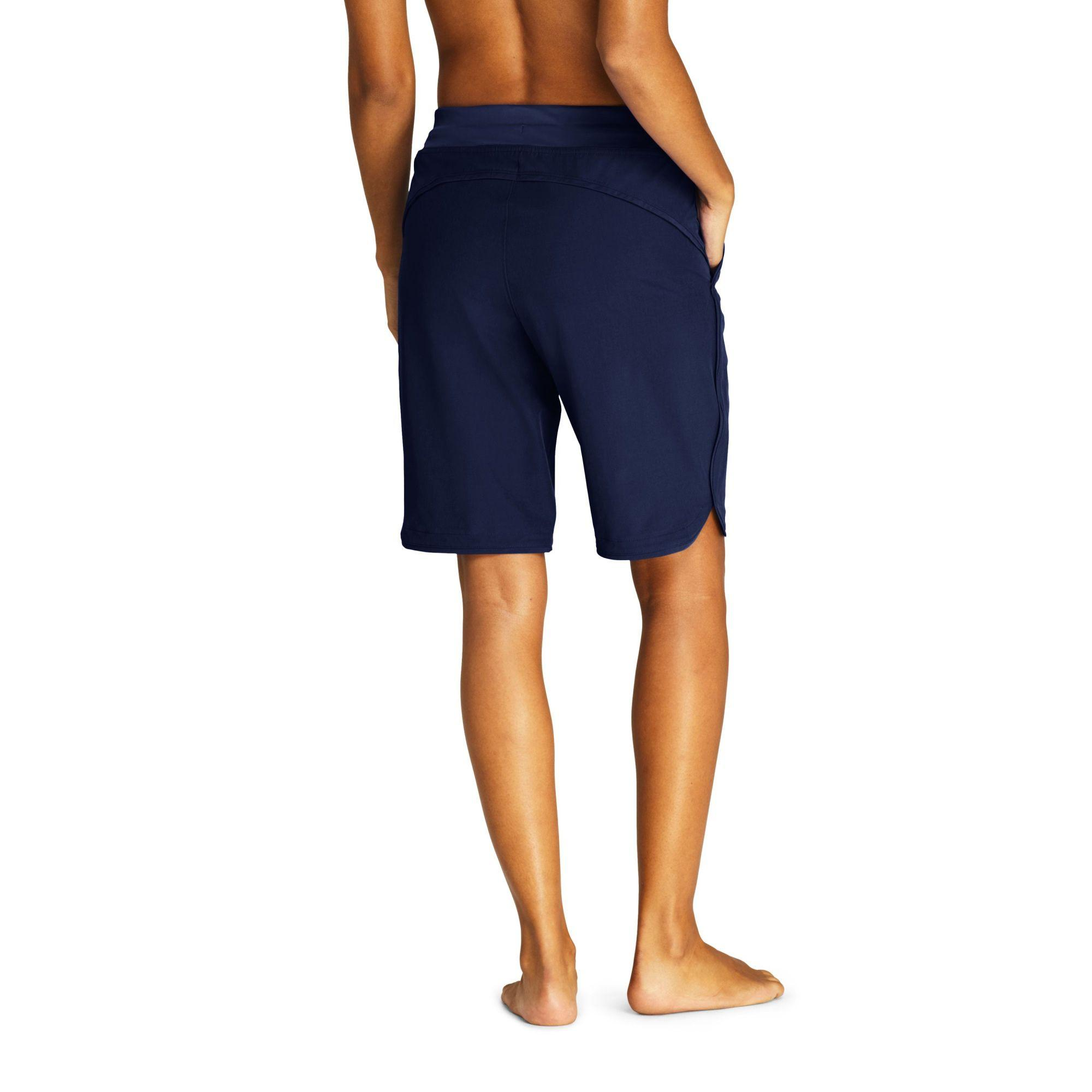 5ee52fb5e6 ... Lands' End - Blue Aqua Sport Comfort Waist 9'' Swim Shorts - Lyst.  Visit Debenhams. Tap to visit site