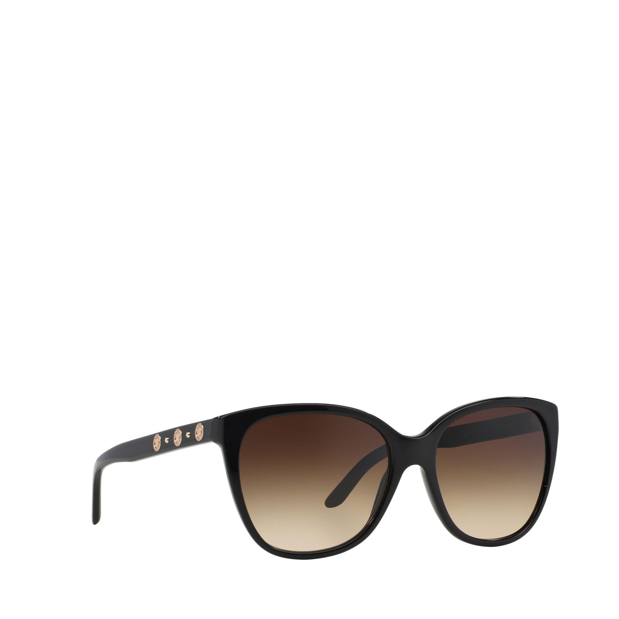 980a834198fe Versace Black Square Ve4281 Sunglasses in Black - Lyst