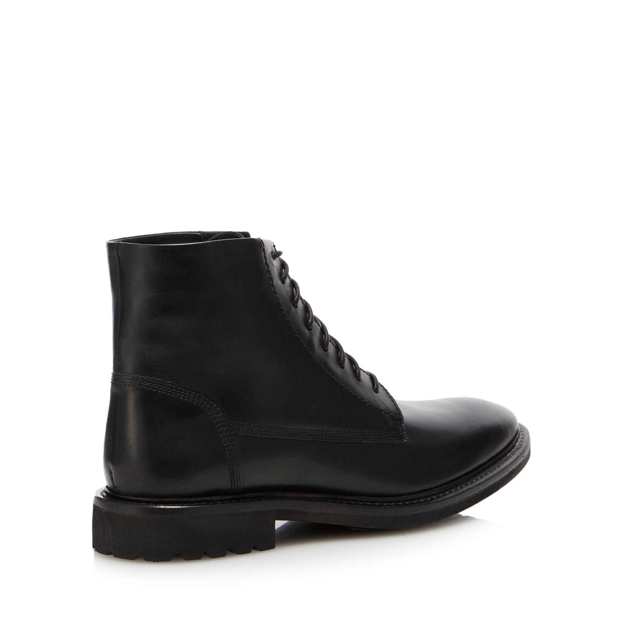 75bb4513f868 Red Herring Black  lunar  Military Boots in Black for Men - Lyst