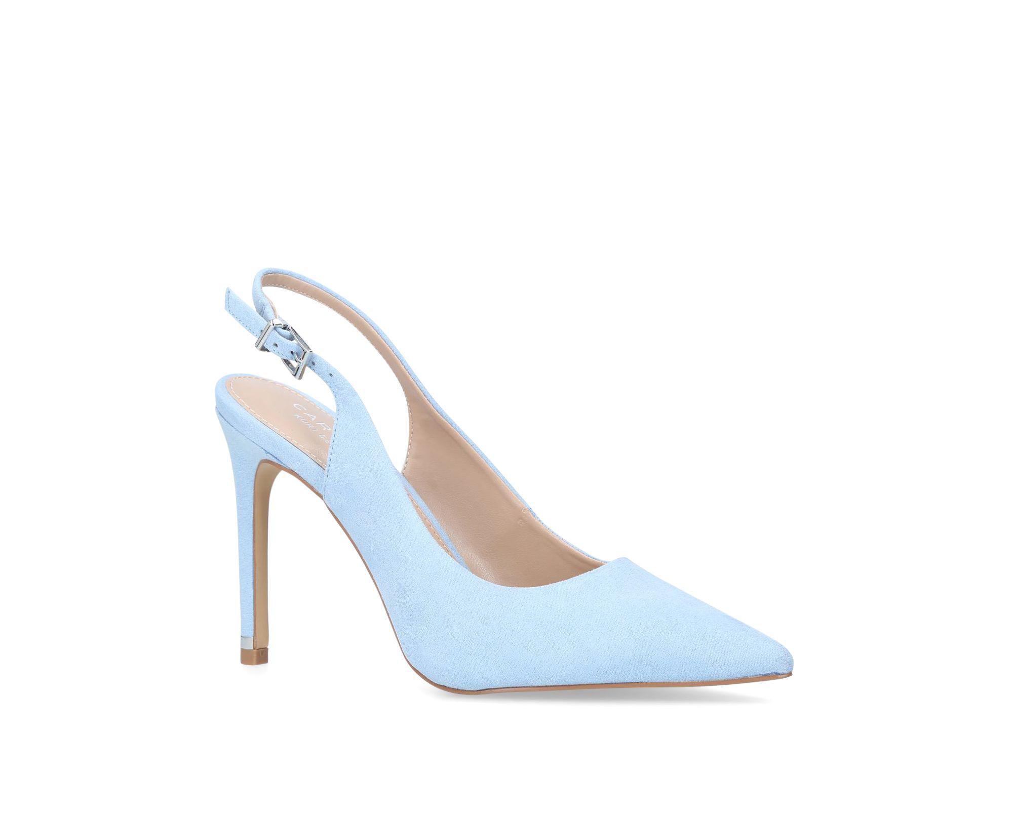 c61beaddd3cc Carvela Kurt Geiger Blue  klass  High Heel Court Shoes in Blue ...