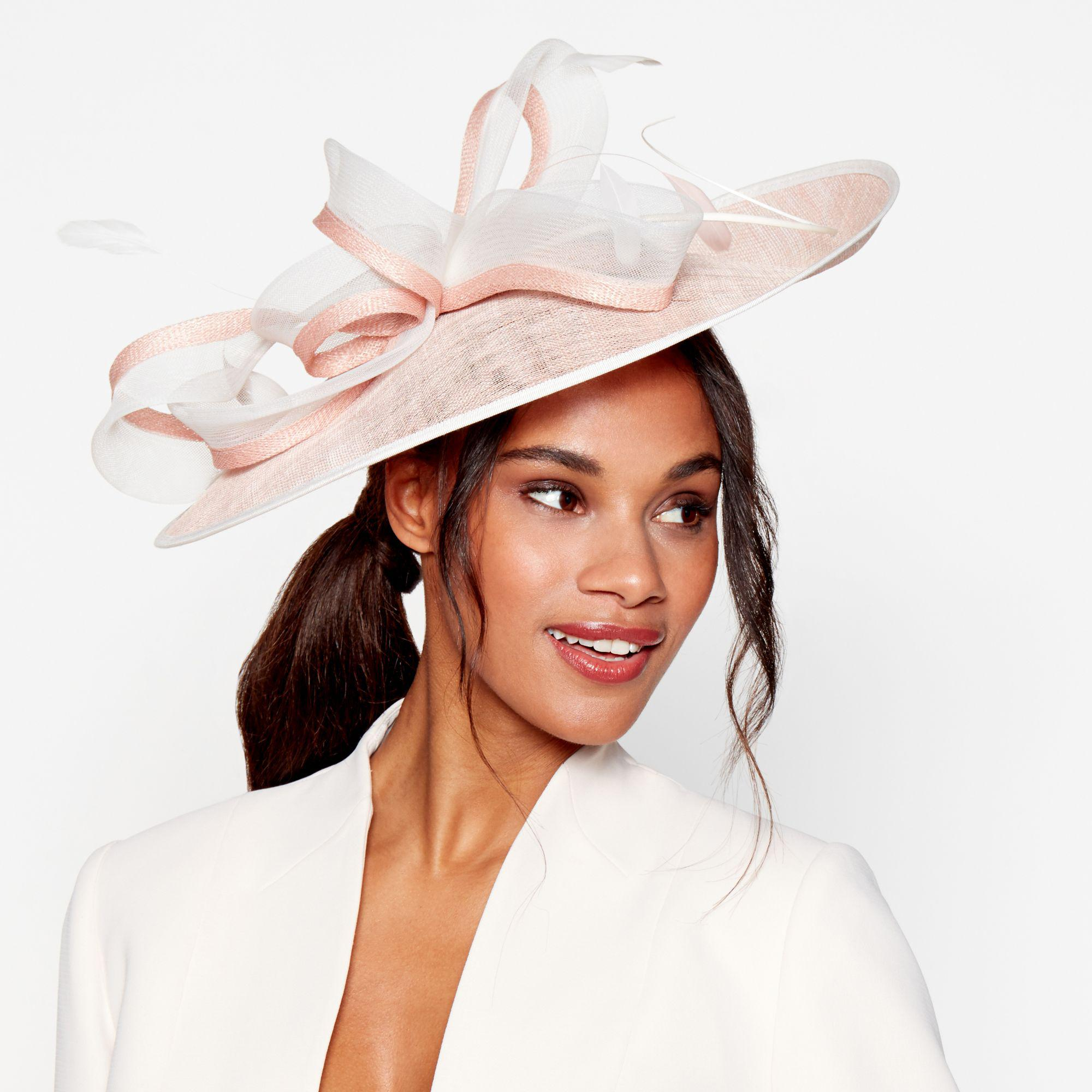 Début Pink Loop And Quill Saucer Fascinator in Pink - Lyst 9f8a7d11fd80