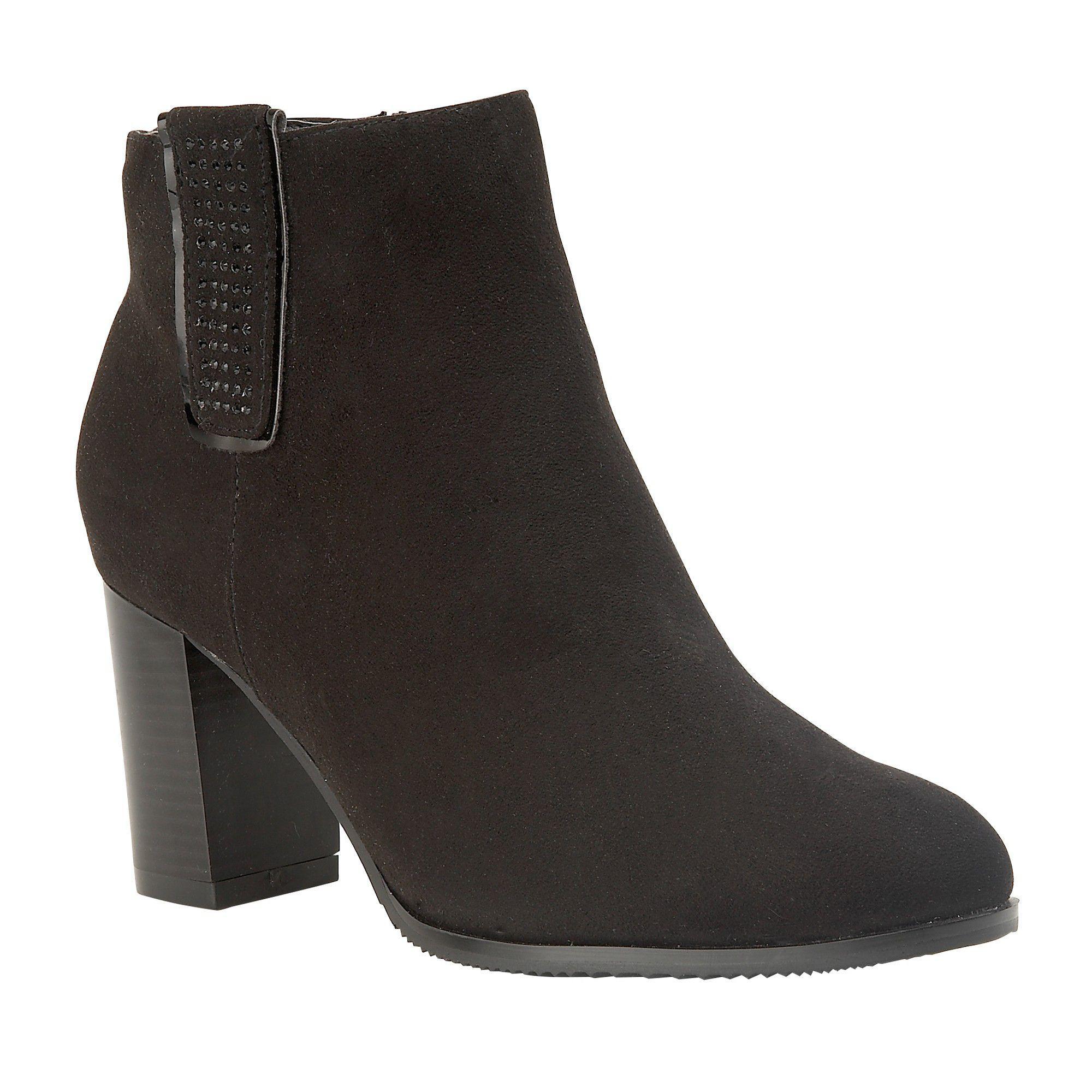 969e39c9cc01 Lotus Black  jenolan  High Block Heel Ankle Boots in Black - Lyst