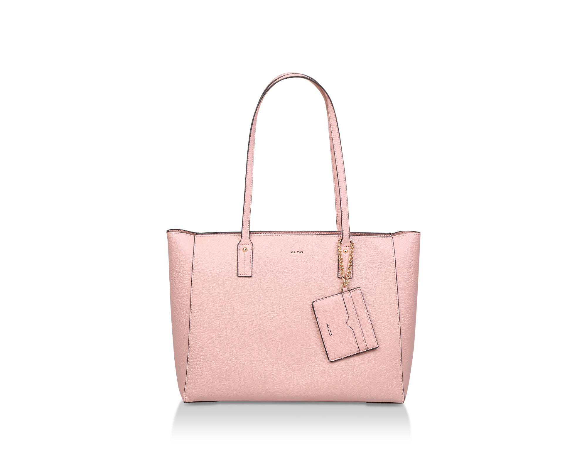 bbf54aa50da ALDO Pink  pomona  Tote Bag in Pink - Lyst