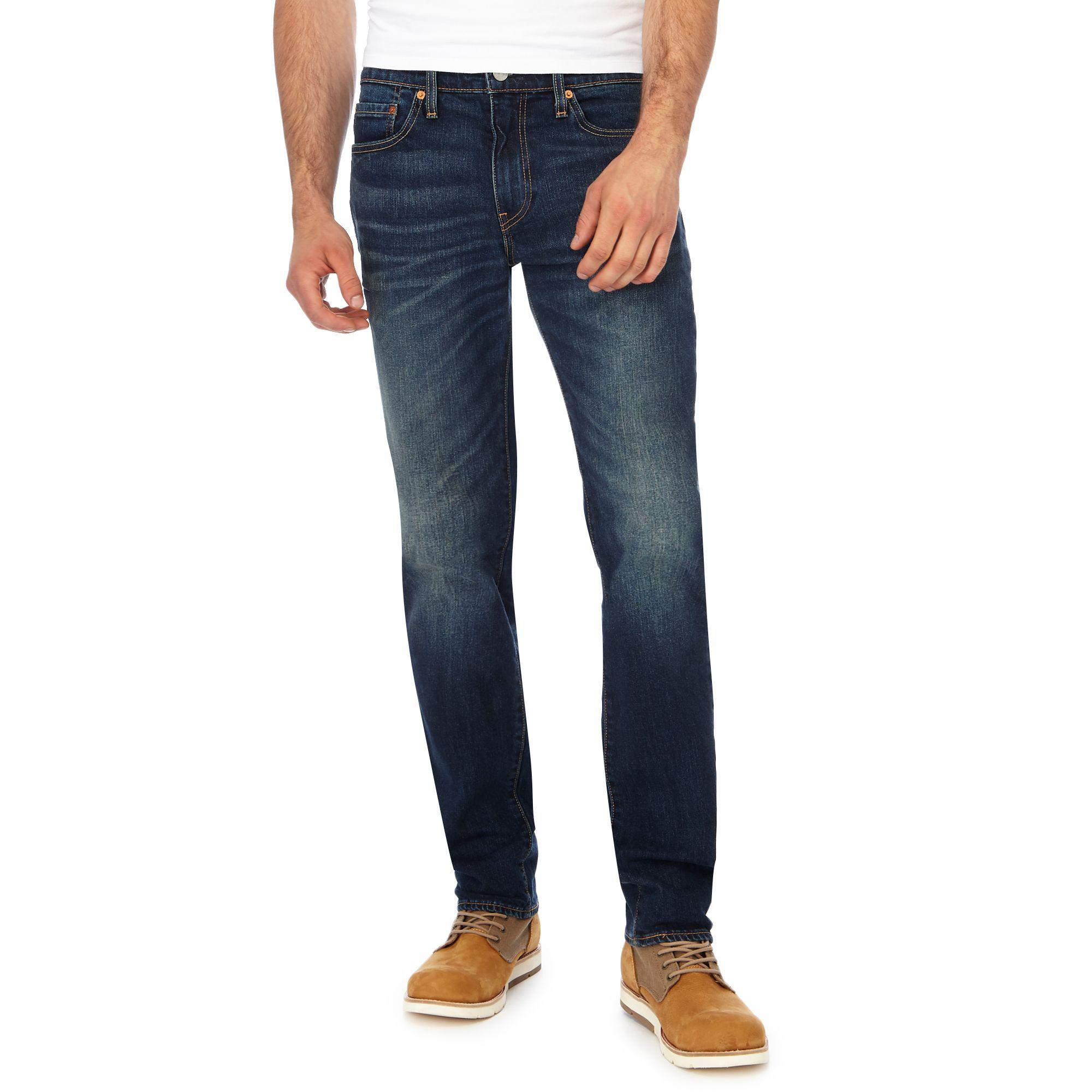 Levi'S Dark Blue Vintage Wash '511' Slim Fit Jeans in Blue ...