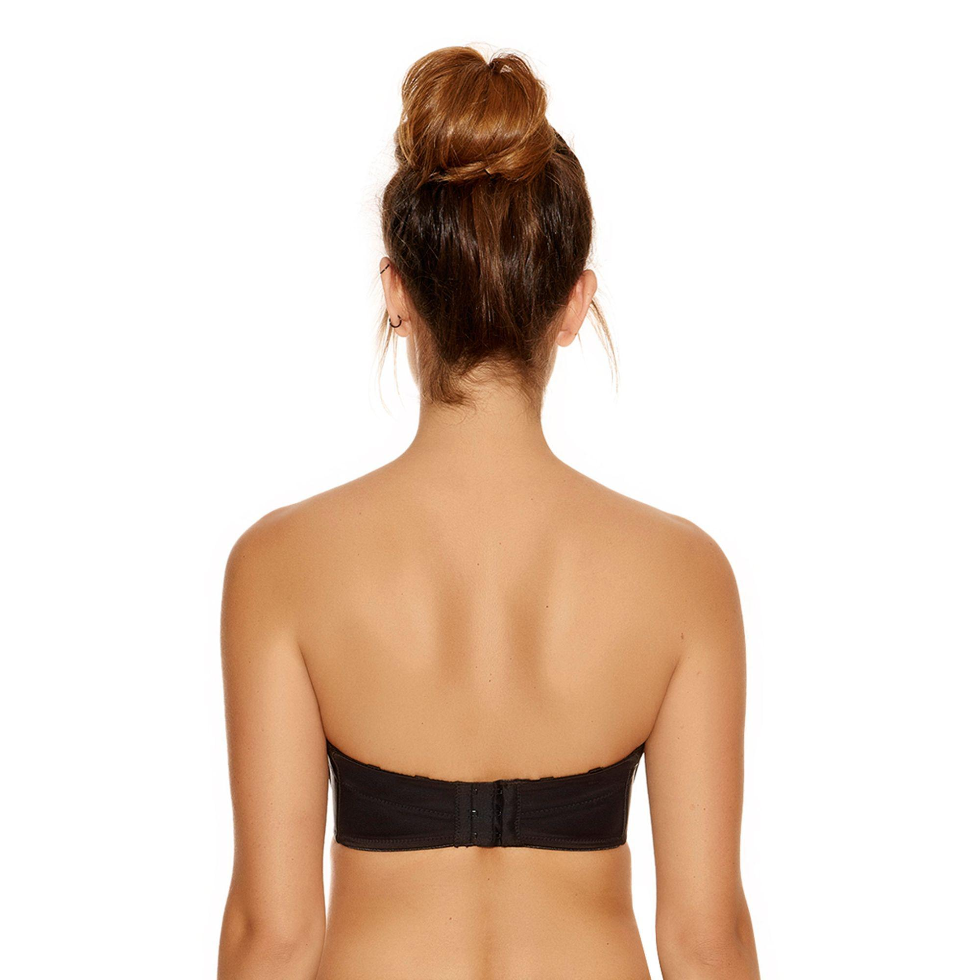 bcfbdfc3991f9 Fantasie - Black Underwired Moulded Cups Strapless Bra - Lyst. View  fullscreen