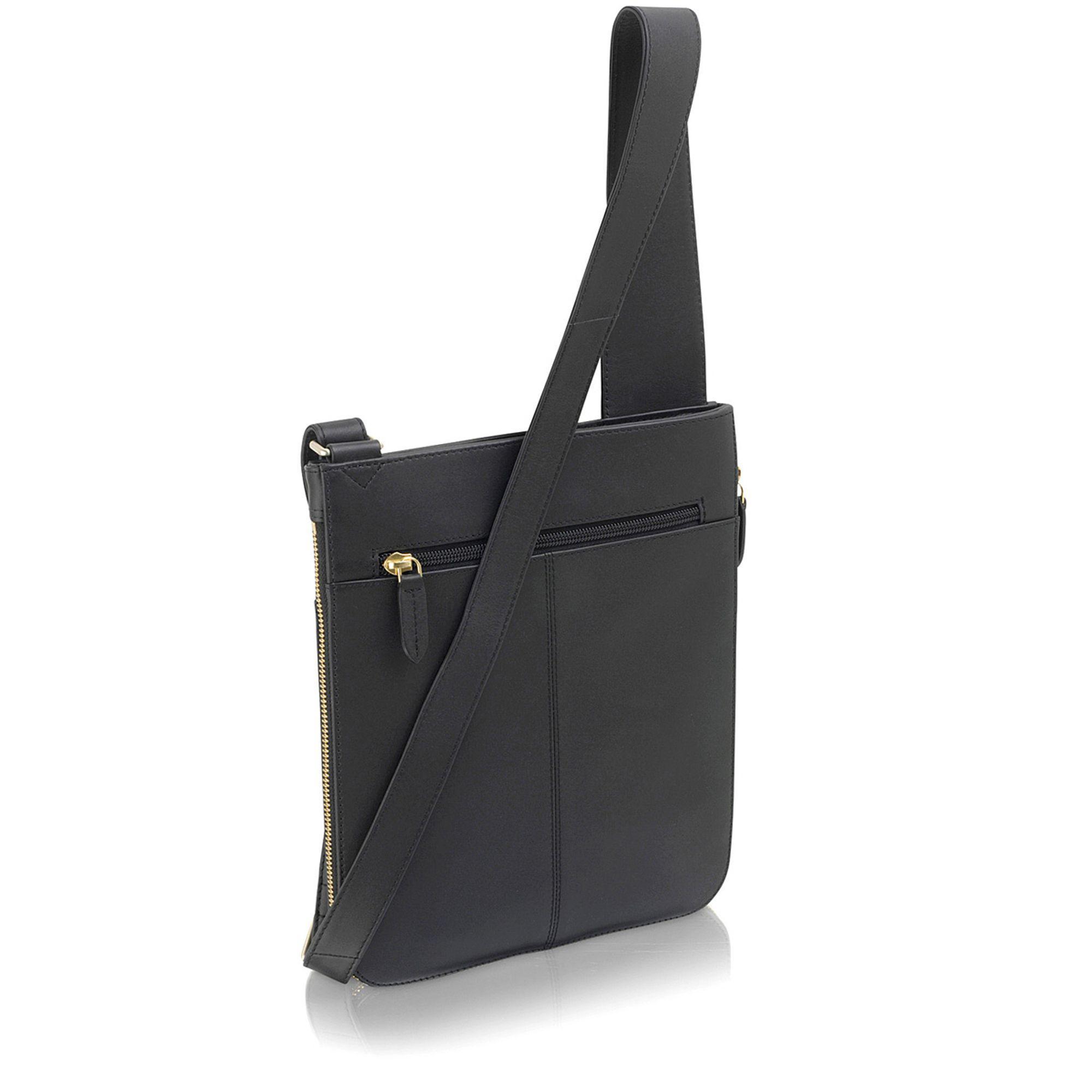 Radley - Black Pocket Bag Medium Zip-top Cross Body Bag - Lyst. View  fullscreen 904fb1fc01815