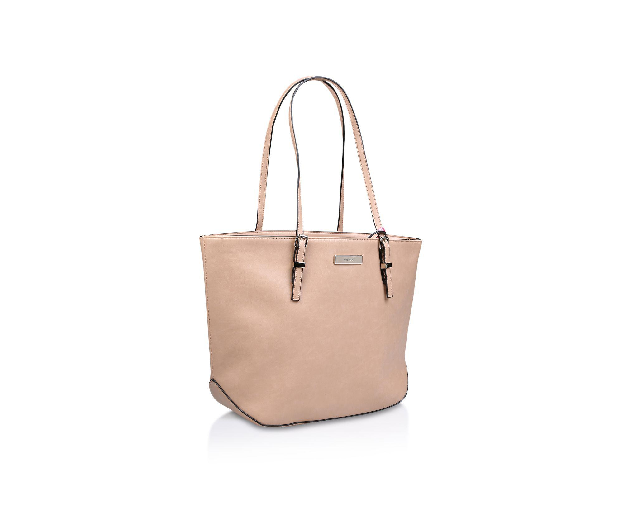 Nine West Nude  society Girl  Tote Bag in Natural - Lyst a921911b7e