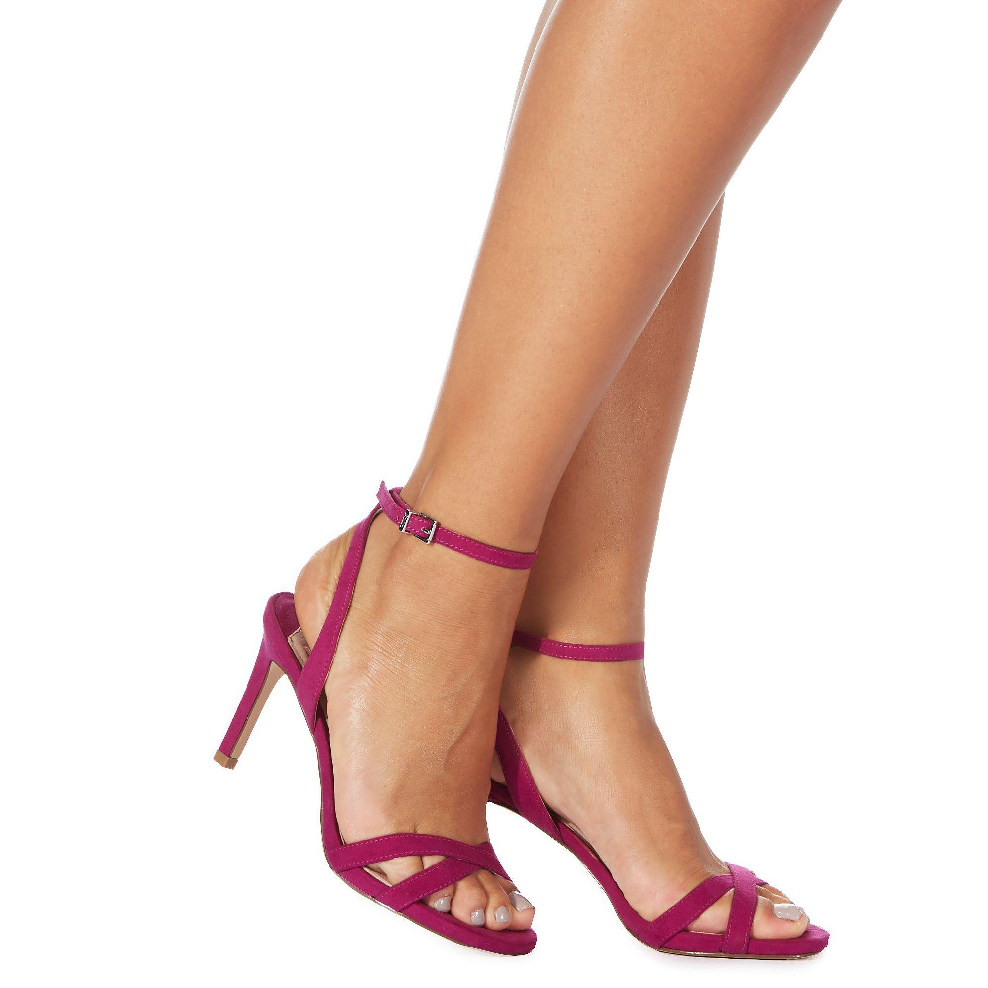 Pink 'Dodo' high stiletto heel ankle strap sandals official sale online reliable online CAgNj