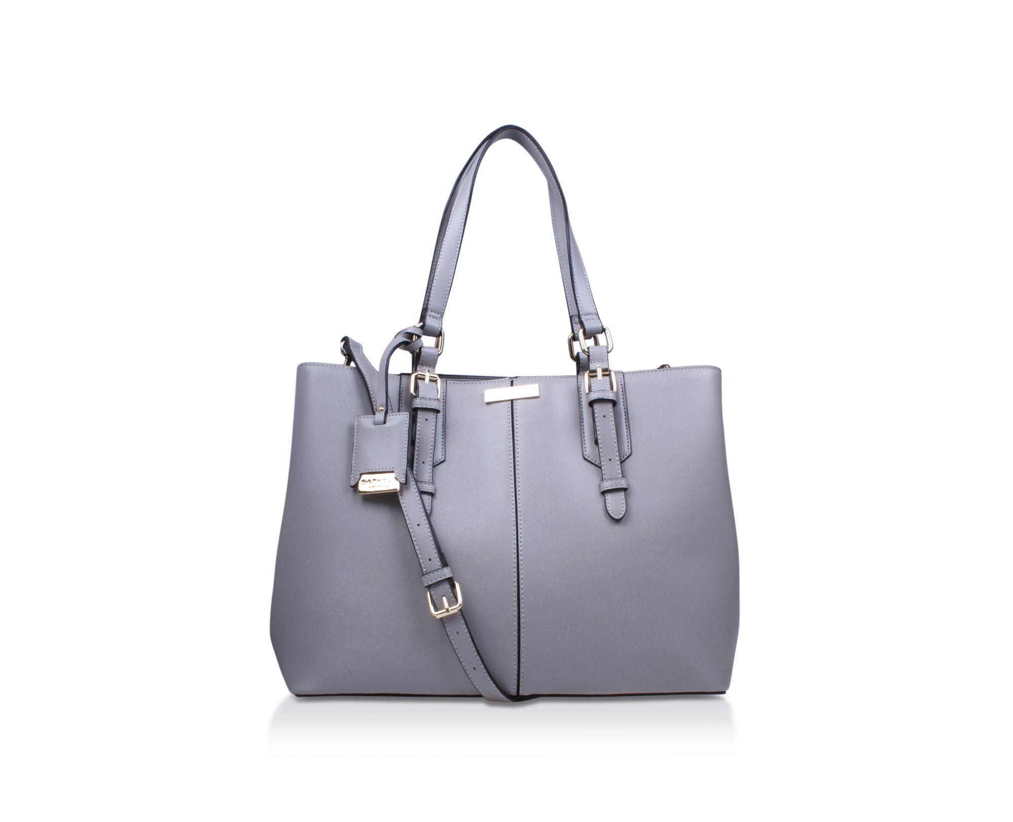 f0282c08d9d8 Carvela Kurt Geiger Grey  ortha2 Slouch Tote  Tote Bag in Gray - Lyst