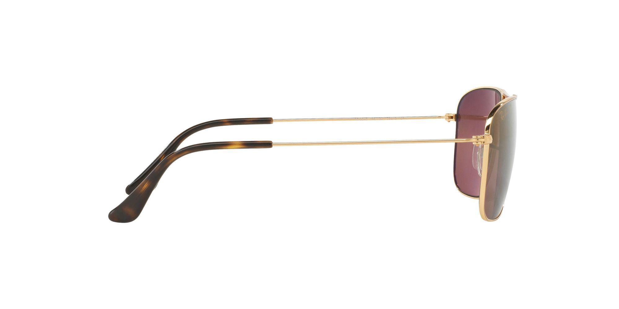 1ff58248cf Ray-Ban - Metallic Gold Rb3543 Pilot Sunglasses for Men - Lyst. View  fullscreen