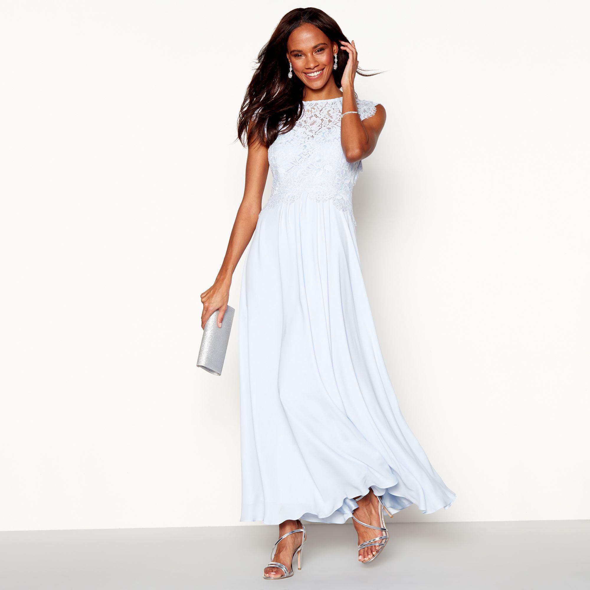 dress wed to bridesmaid blue smarter charcoal grey borrowed dresses lighting pin bridesmaidsbridesmaid way light the