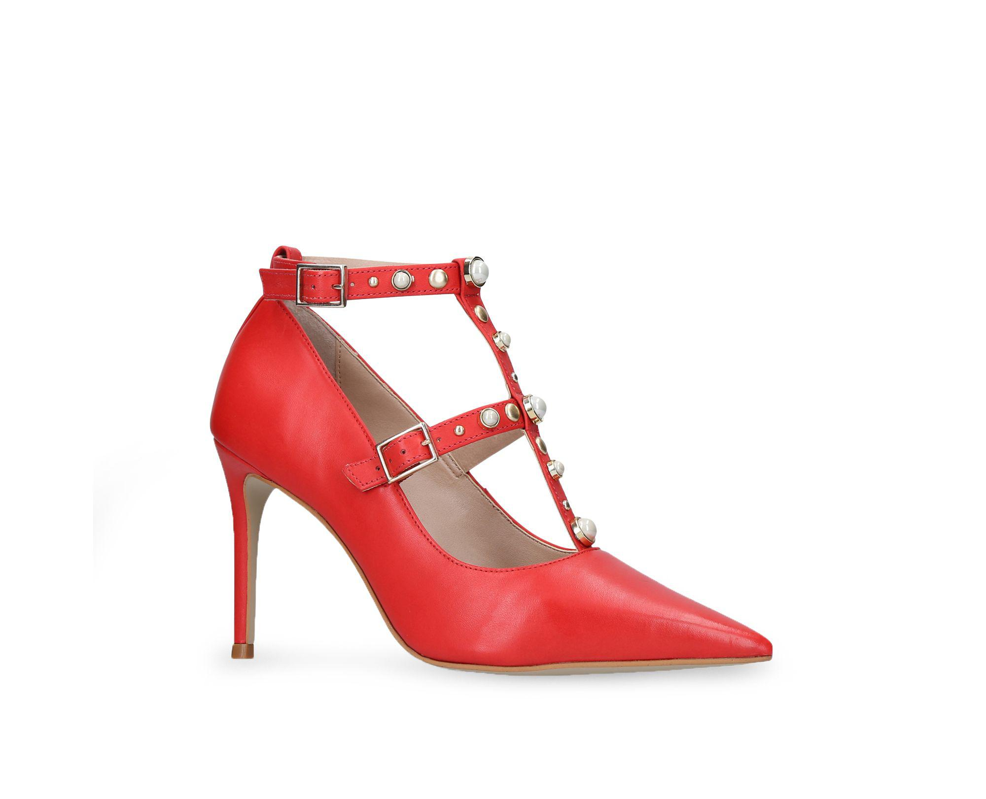 e345ed4a98 Carvela Kurt Geiger Agave High Heel Sandals in Red - Save 81% - Lyst