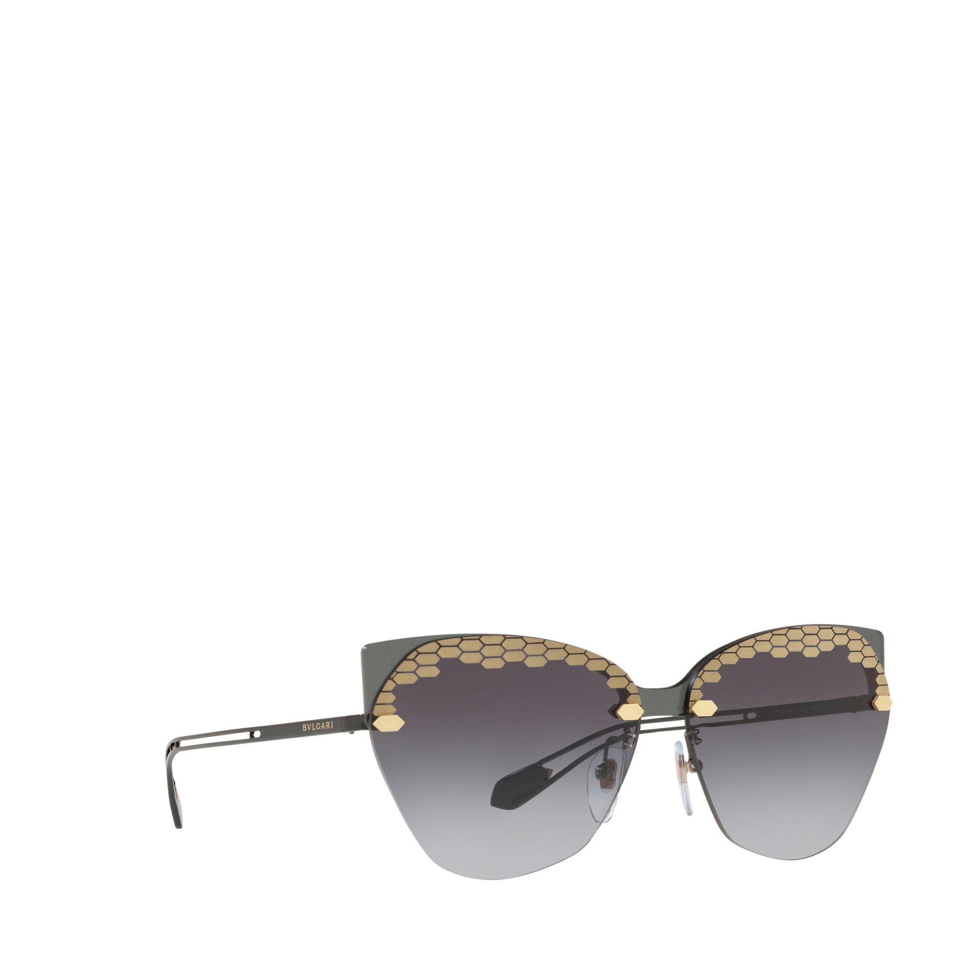 e61b5ceab3475 BVLGARI - Black 0bv6107 Irregular Sunglasses - Lyst. View fullscreen