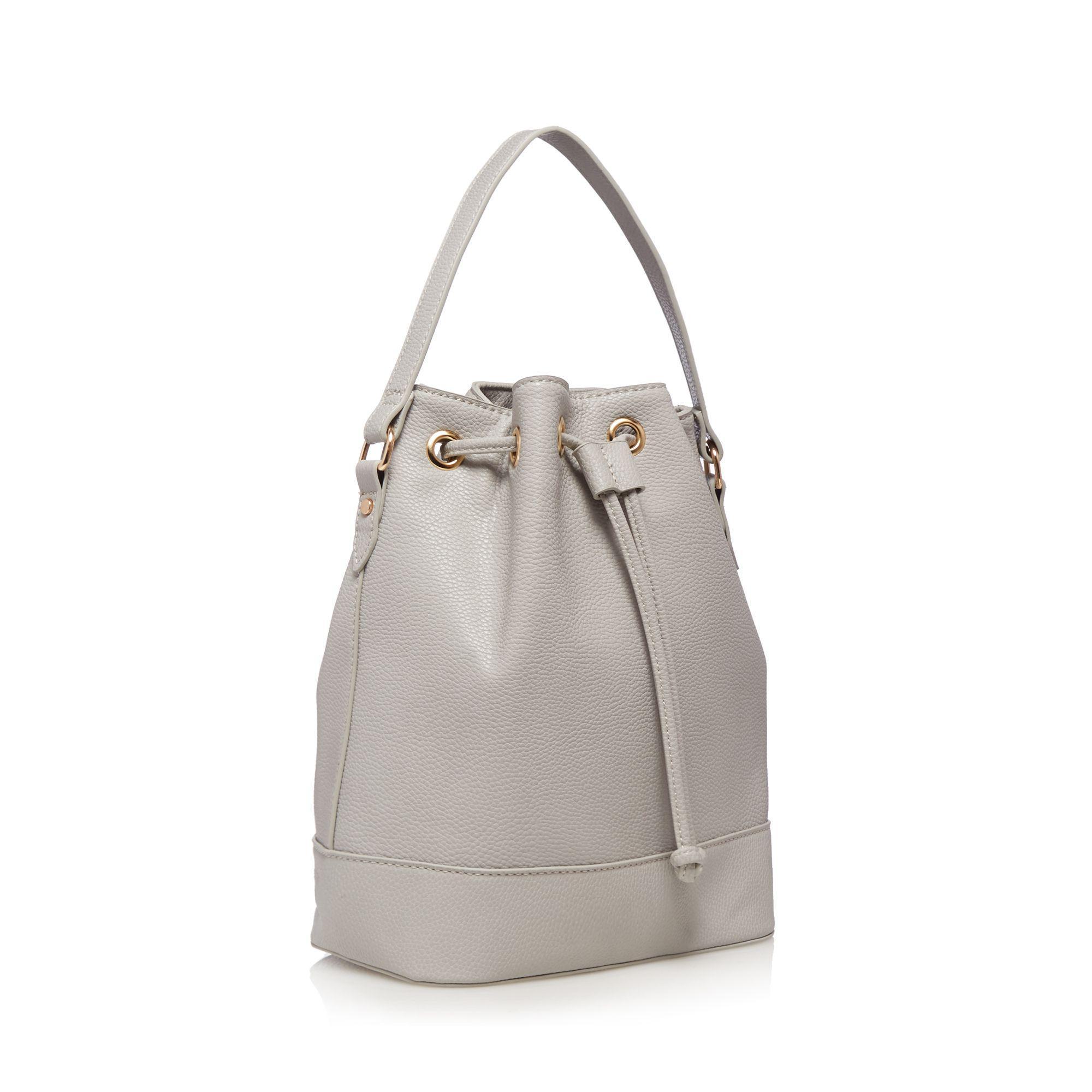 Red Herring Gray Grey Bucket Bag Lyst View Fullscreen