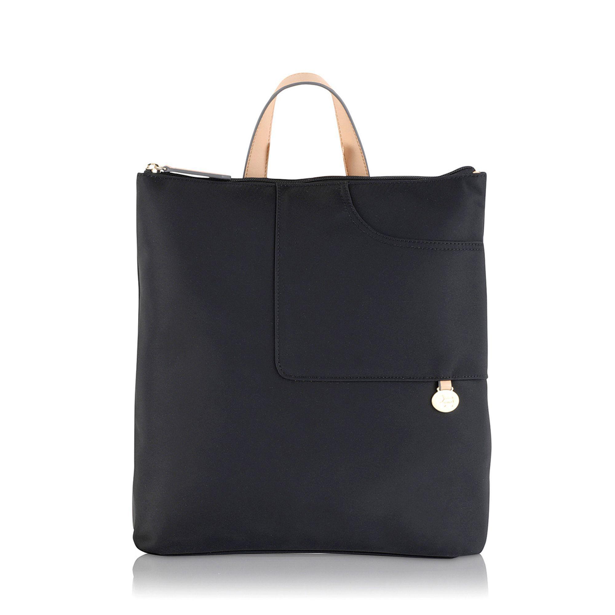 Radley - Pocket Essentials Black Large Zip-top Backpack - Lyst. View  fullscreen dee6ef0dfc823