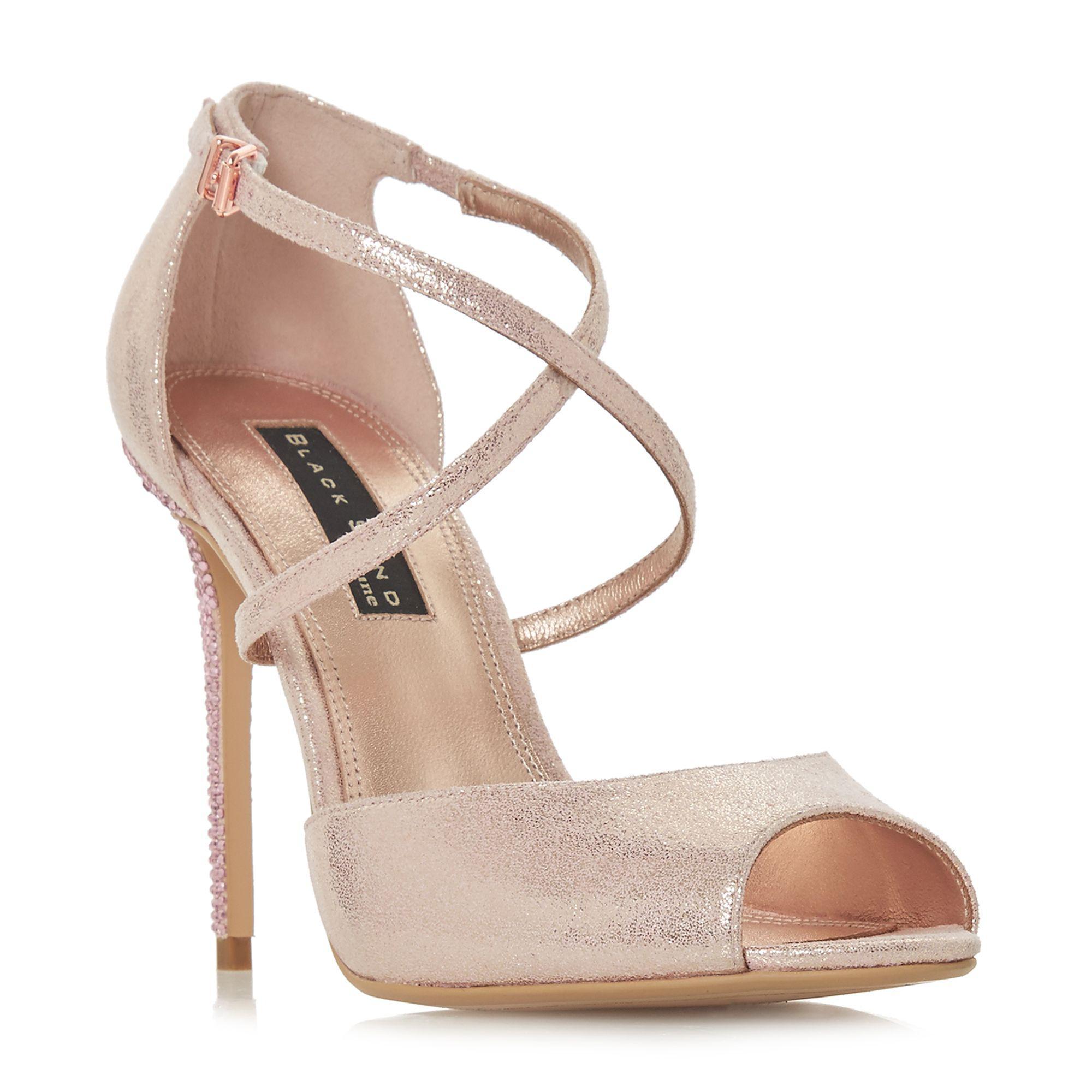0d7752b9fde Dune. Women s Light Pink  marilynee  High Stiletto Heel Ankle Strap Sandals