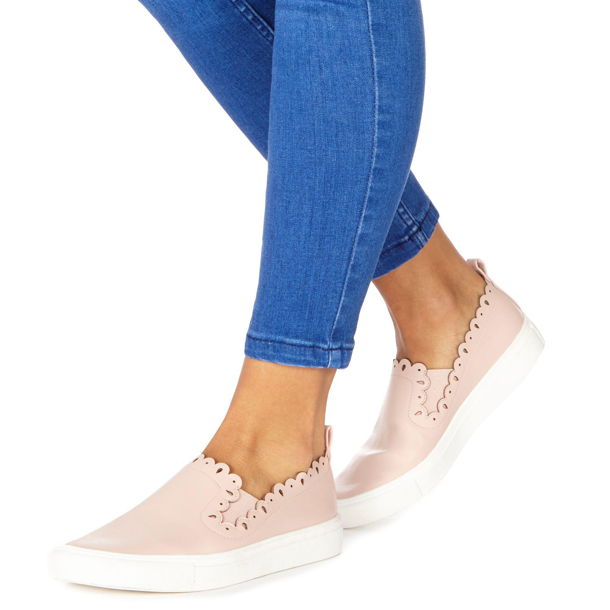 Light pink 'Ken' slip on trainers clearance cheap online rbM0SLWxK