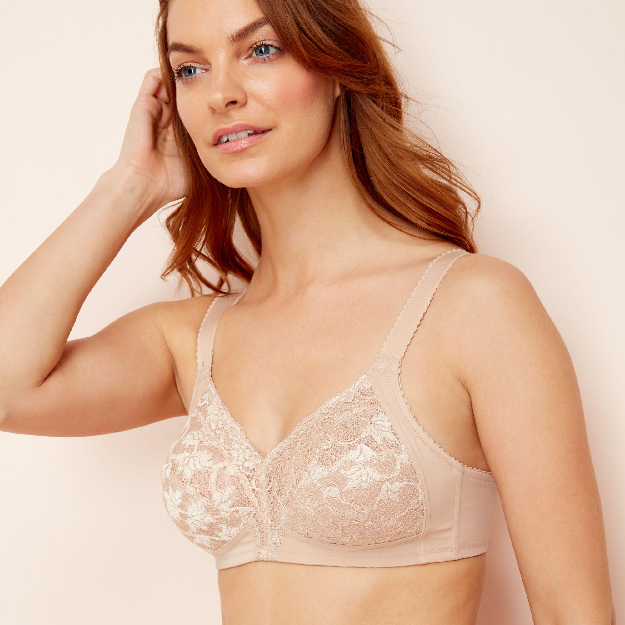 348a13b926 Triumph - Natural Lace  delicate Doreen  Non-wired Non-padded Full Cup.  View fullscreen