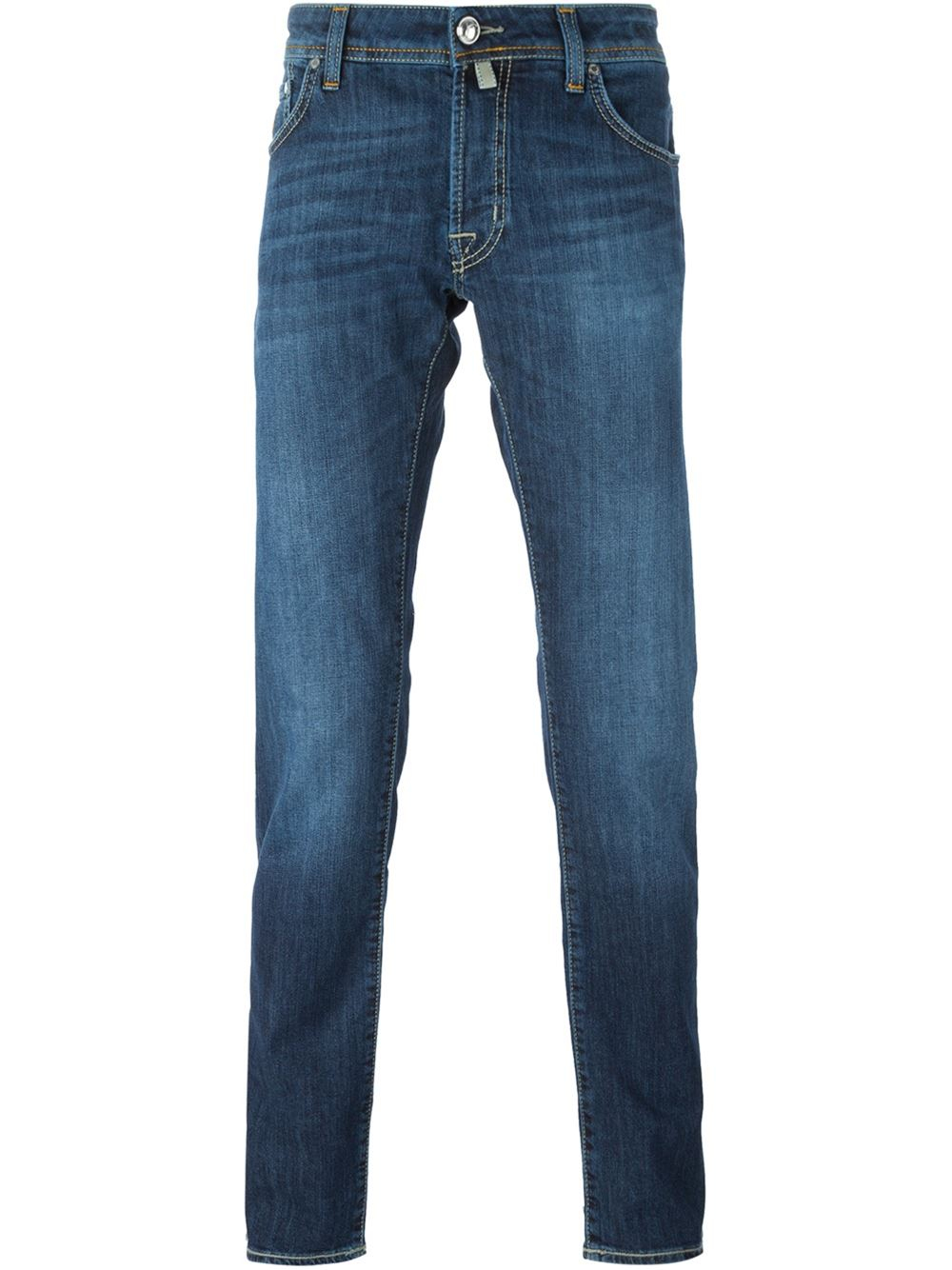 jacob cohen straight fit jeans in blue for men lyst. Black Bedroom Furniture Sets. Home Design Ideas