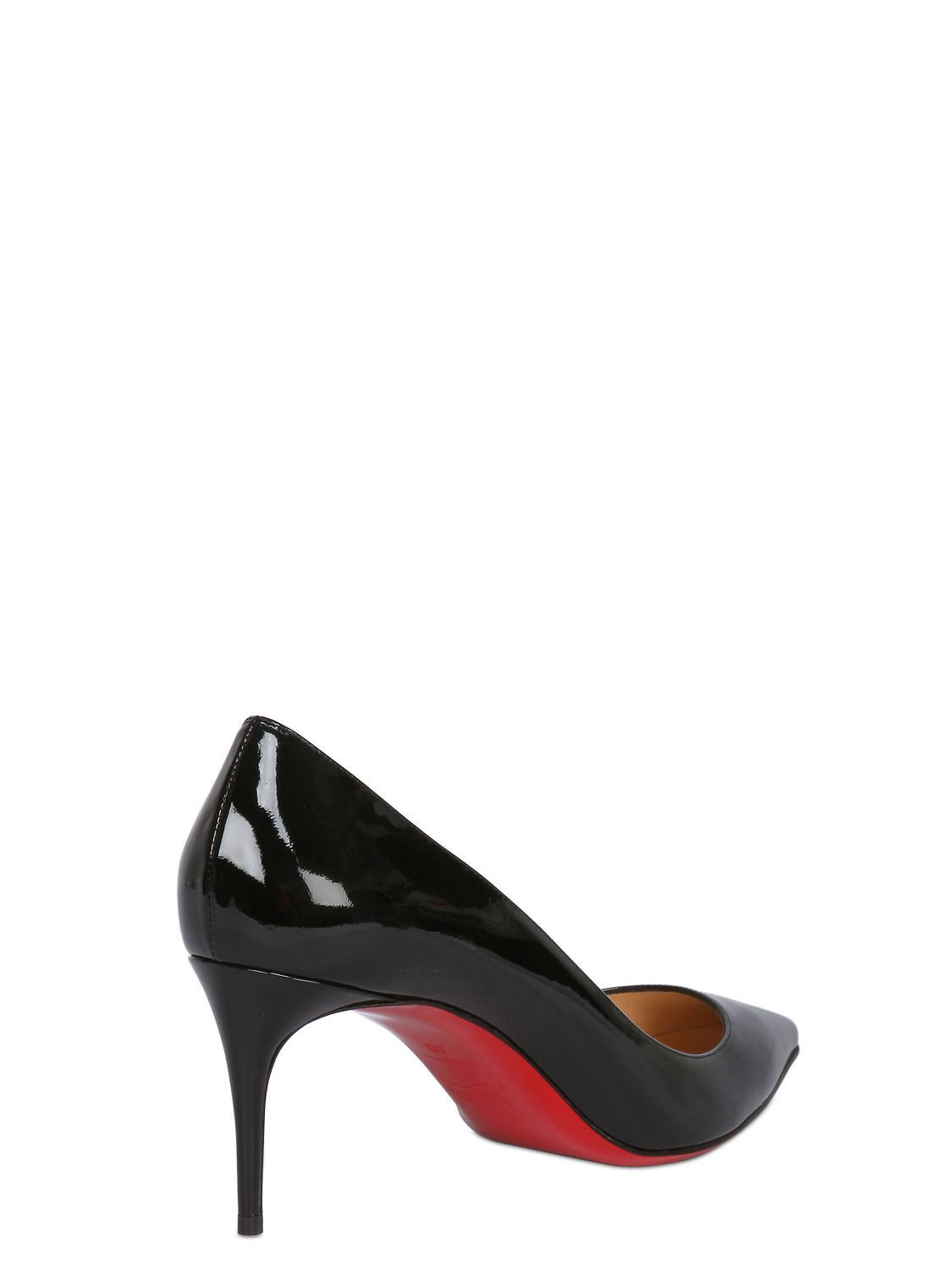 Christian louboutin 70mm Decollete 554 Patent Leather Pumps in ...