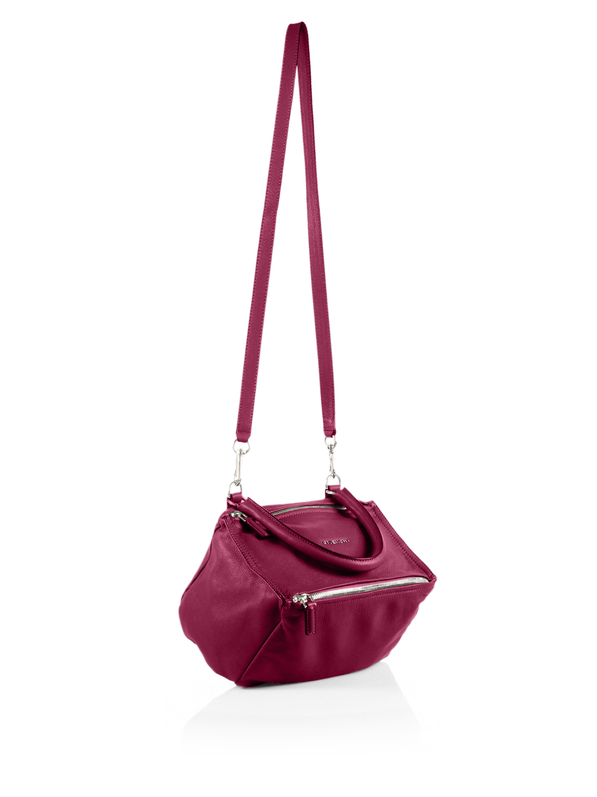f6f47bf74d4 Lyst - Givenchy Pandora Small Shoulder Bag in Purple