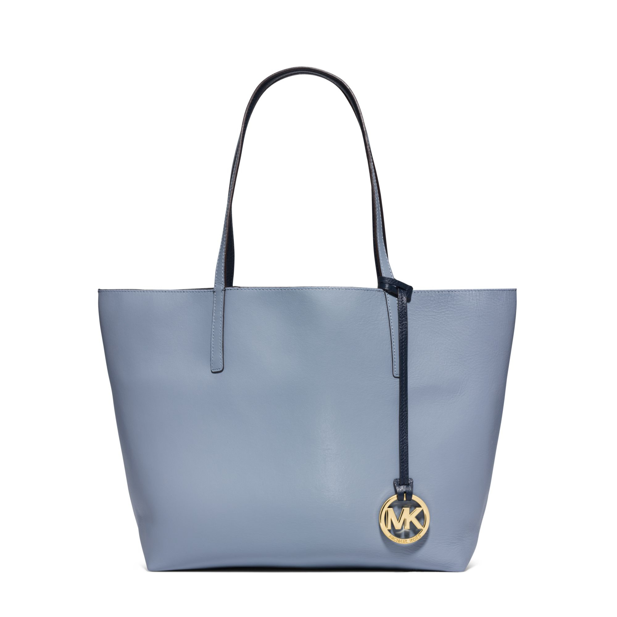 cfb7f6784a30 Michael Kors Izzy Large Reversible Leather Tote Bag in Blue - Lyst