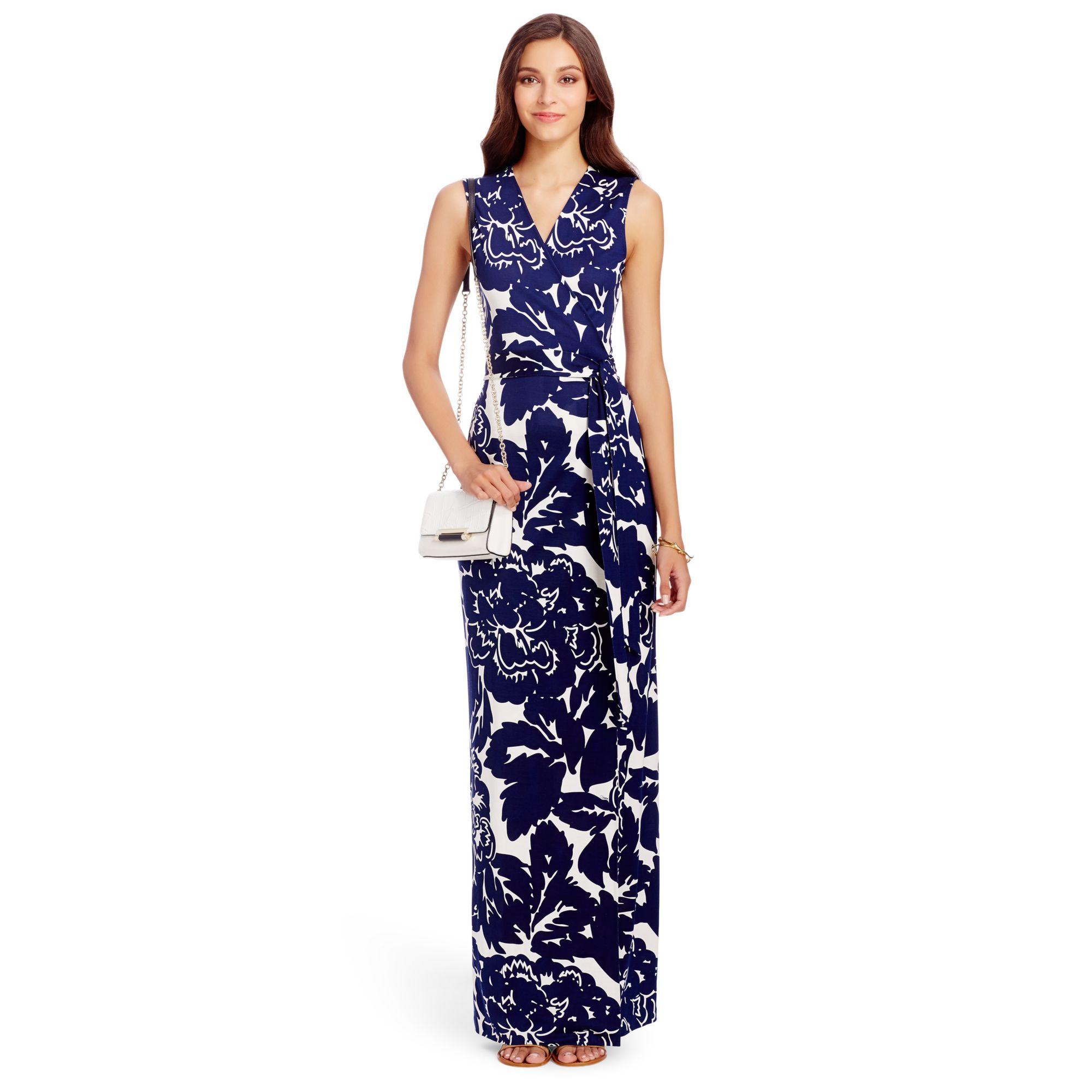 Diane von furstenberg maxi dresses