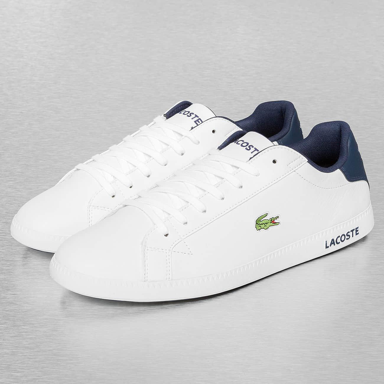 e6c5003ba28239 Lacoste - White Sneakers Graduate Lcr3 Spm for Men - Lyst. View Fullscreen
