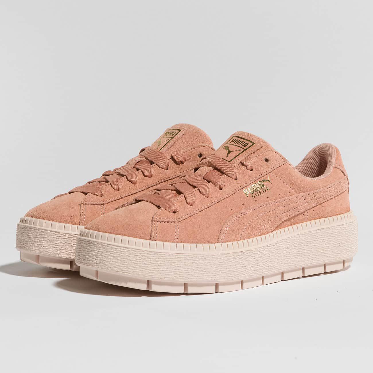 1cae0c8dac1 Lyst - Puma Wo Sneakers Platform Trace in Pink