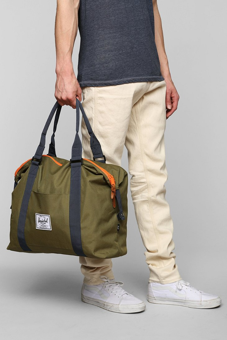 Herschel supply co. Stranded Plus Weekender Bag in Green for Men ...