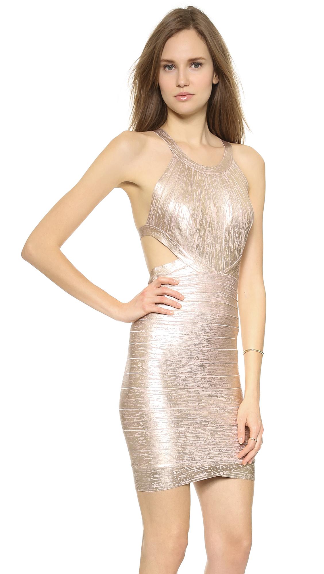 Rose Gold Cocktail Dress