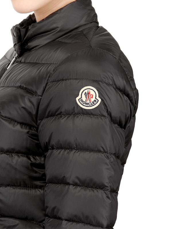 Lyst Moncler Lans Light Weight Quilted Nylon Jacket In Black For Men