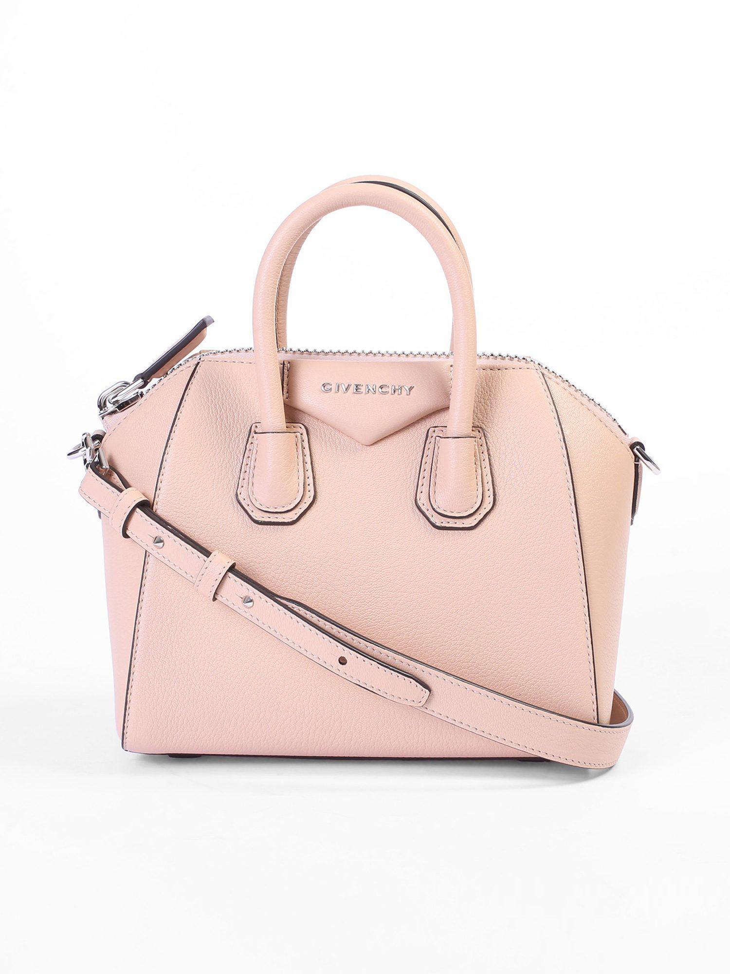 Givenchy - Pink Mini Antigona Leather Bag - Lyst. View fullscreen d38e701371