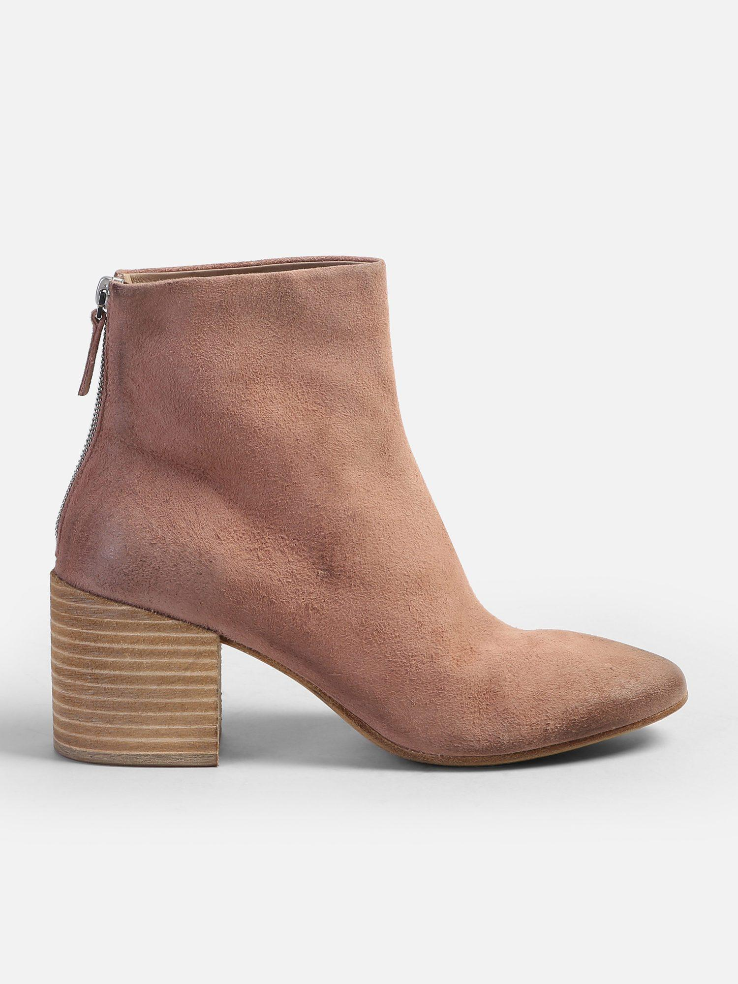 43eeb46634 Lyst - Marsèll Distressed Effect Leather Ankle Boots in Brown