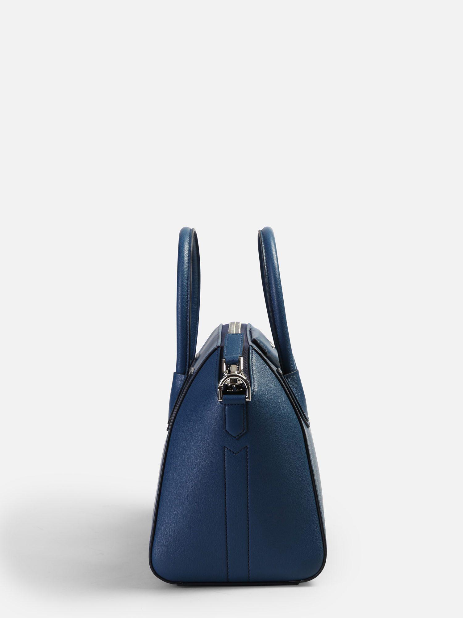 Givenchy Small Antigona Leather Bag in Blue - Lyst fe07cd1b37