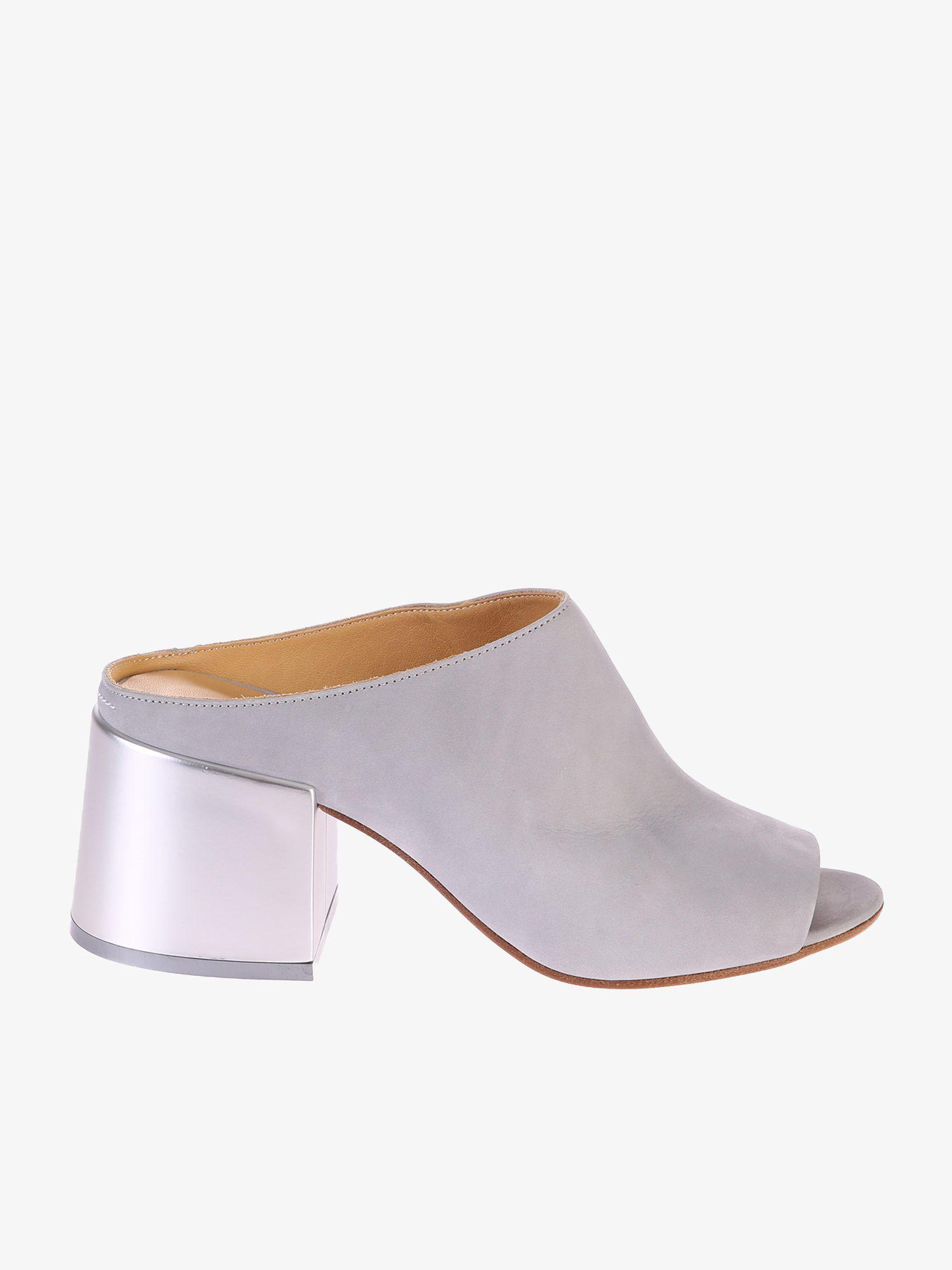 82048227527b Lyst - Mm6 By Maison Martin Margiela Leather Mules - Save 30%