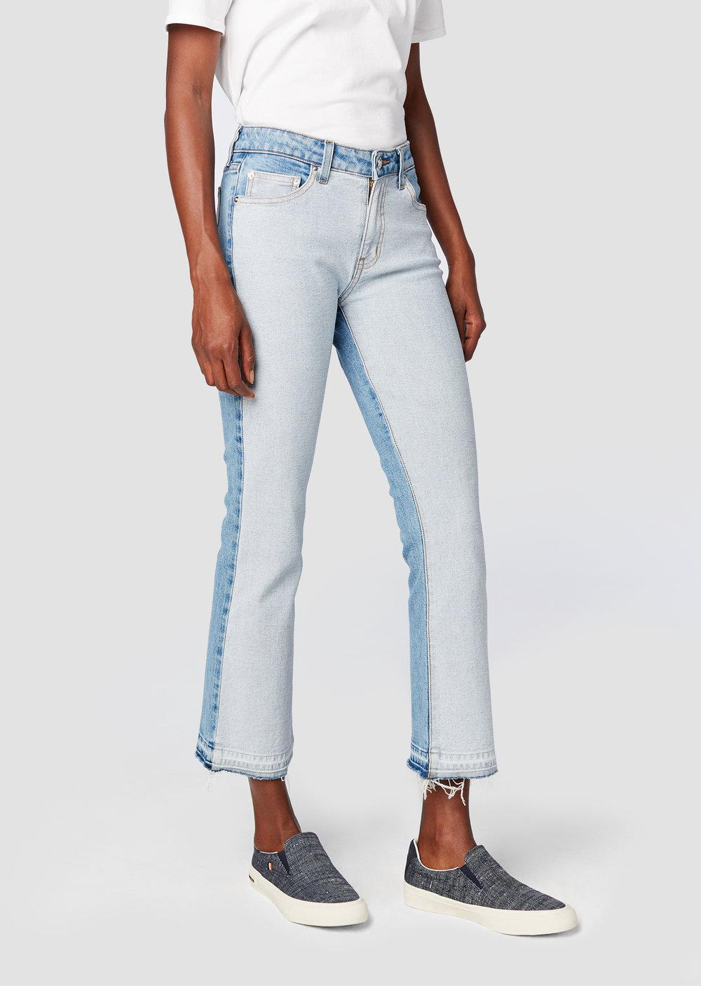 Sale Finishline Gia Mid-Rise Cropped Flare - White Derek Lam Release Dates Cheap Price oxwnC3Bh