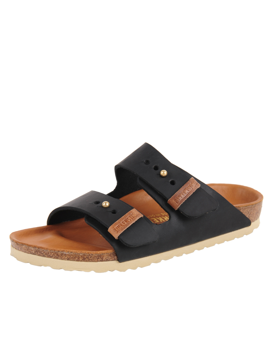 Birkenstock Arizona Lux In Black Black Lt Lyst