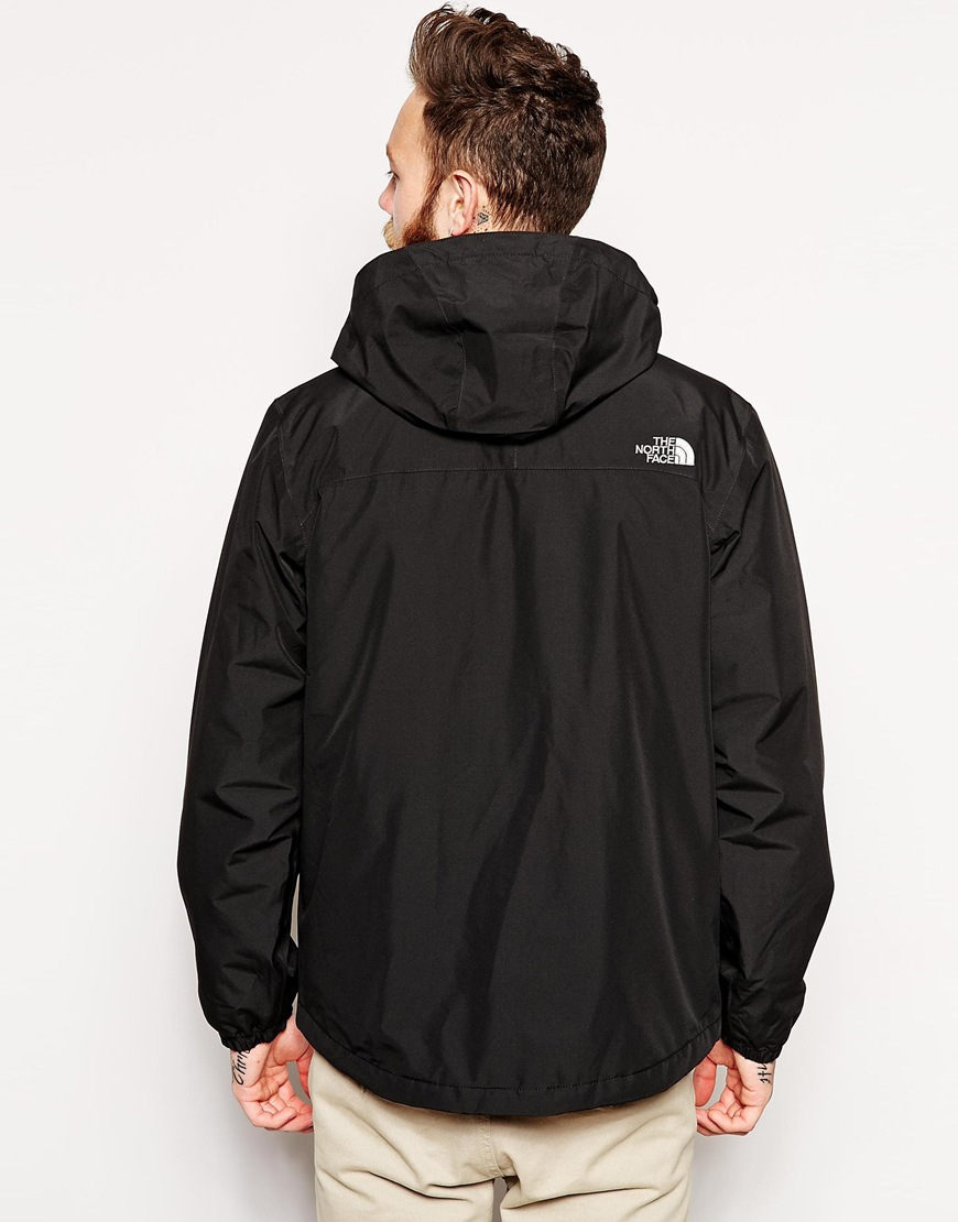 The north face Resolve Insulated Jacket in Black for Men | Lyst