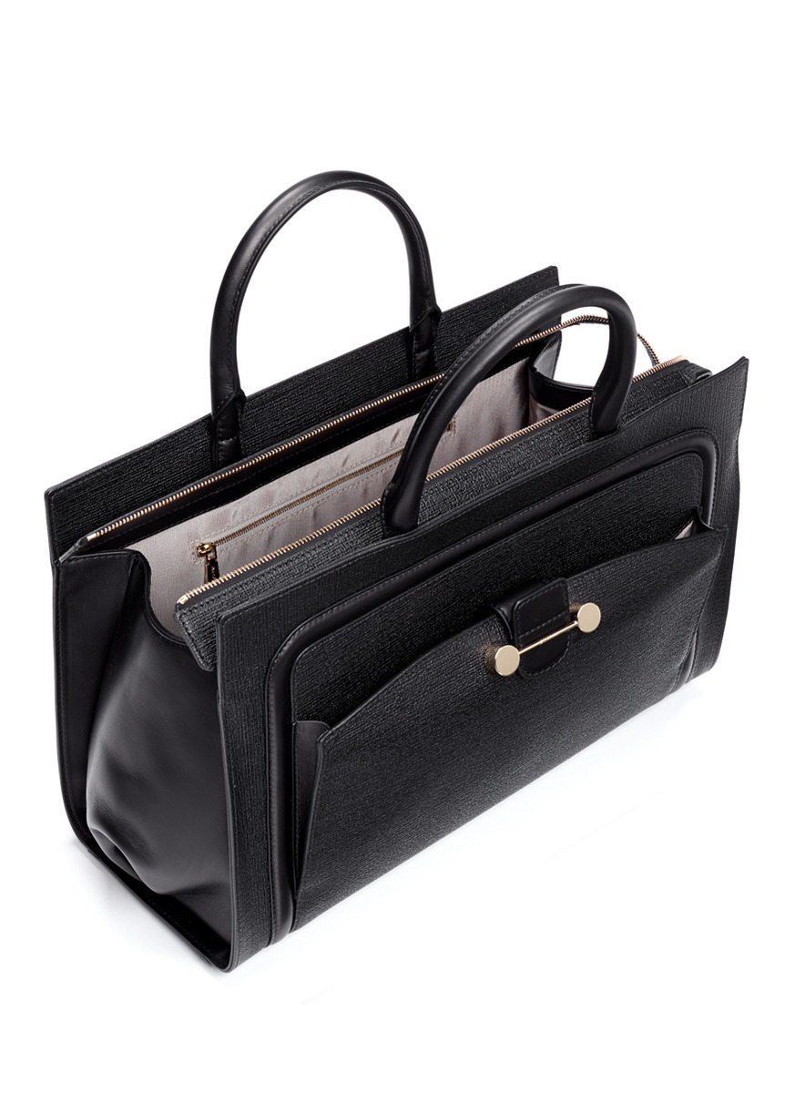Lyst Jason Wu Daphne 2 East West Textured Leather Tote