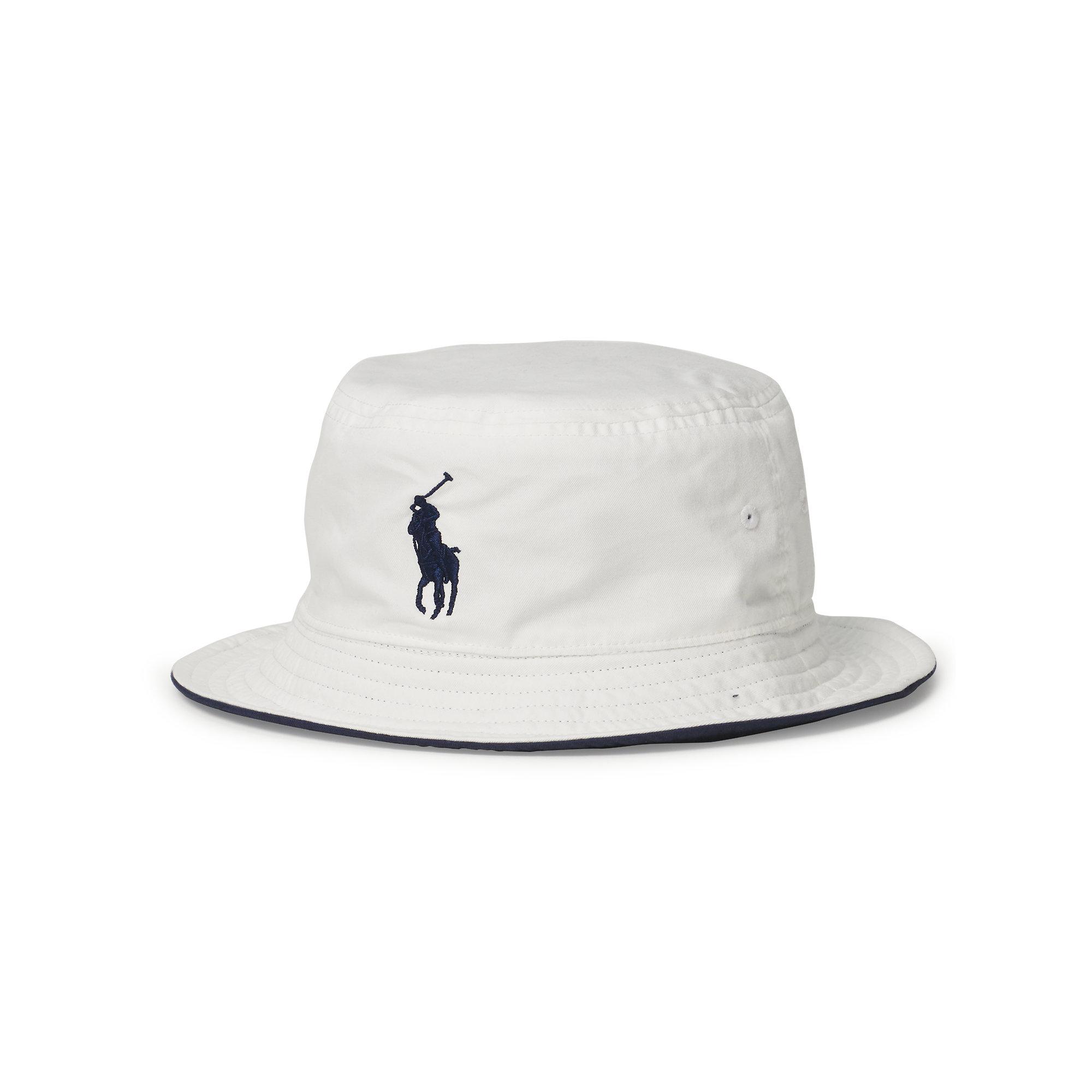 574d0f8519beb Polo Ralph Lauren Us Open Reversible Bucket Hat in Blue for Men - Lyst