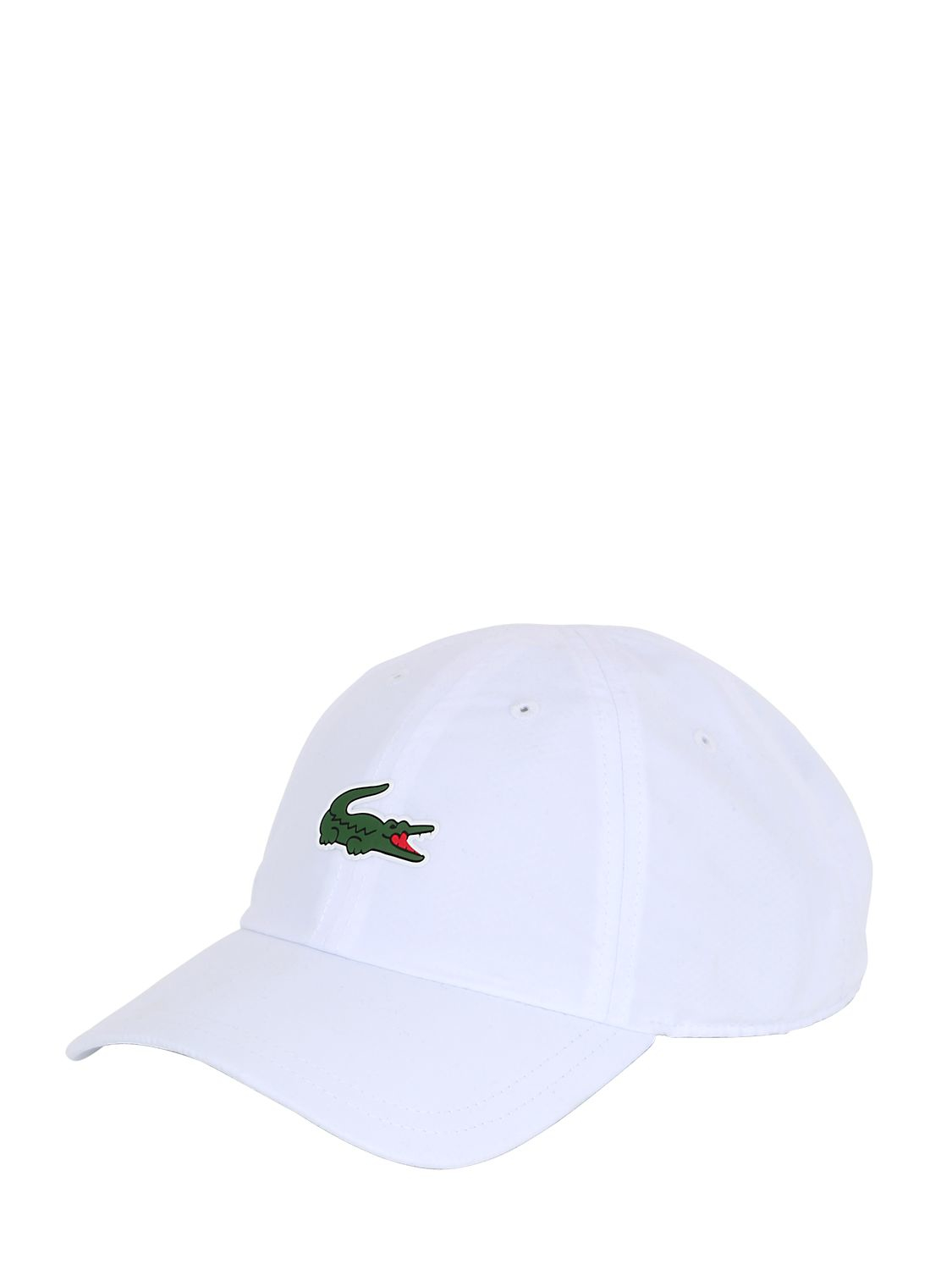 Lacoste Microfiber Tennis Hat in White for Men - Lyst 140f0893444