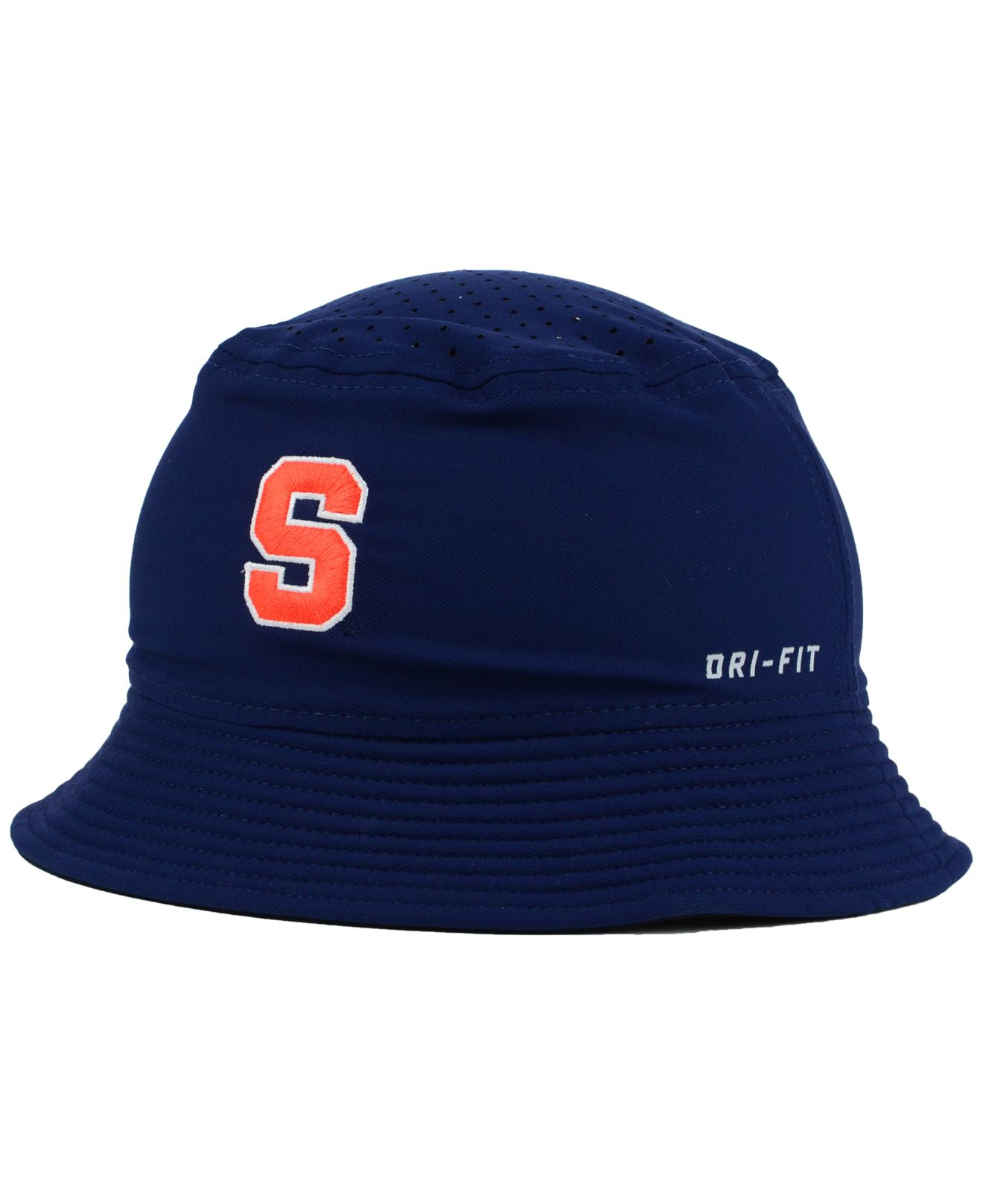a5f23fe842a ... czech lyst nike syracuse orange vapor bucket hat in blue for men d7004  f98d4