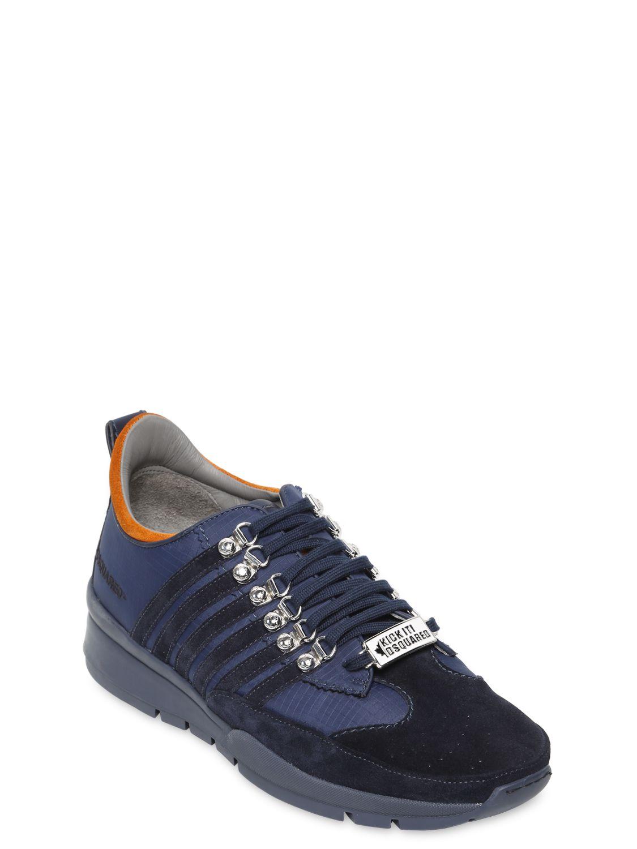 Chaussures De Sport Dsquared2 - Bleu ML33Eu