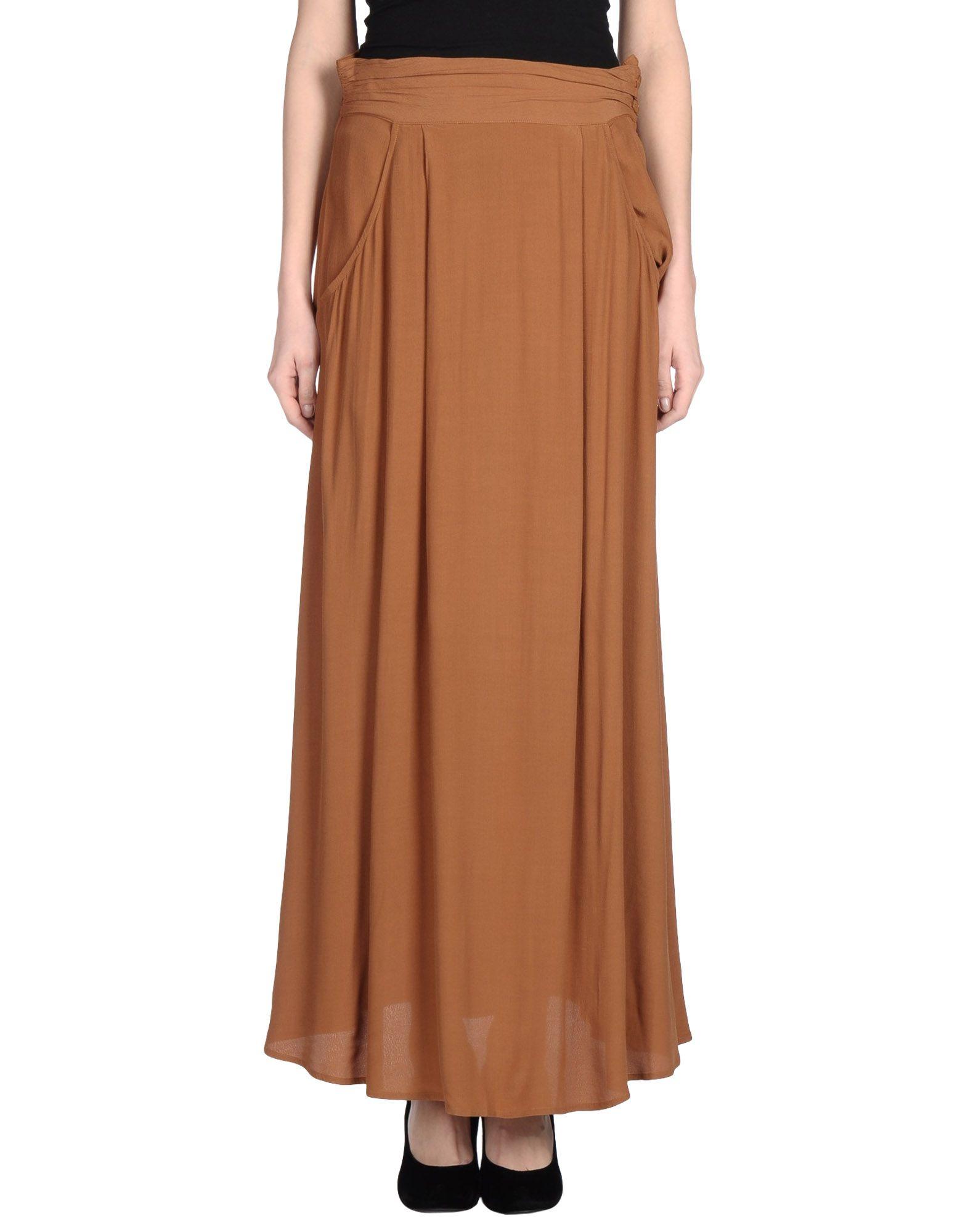Brown Long Skirt 63