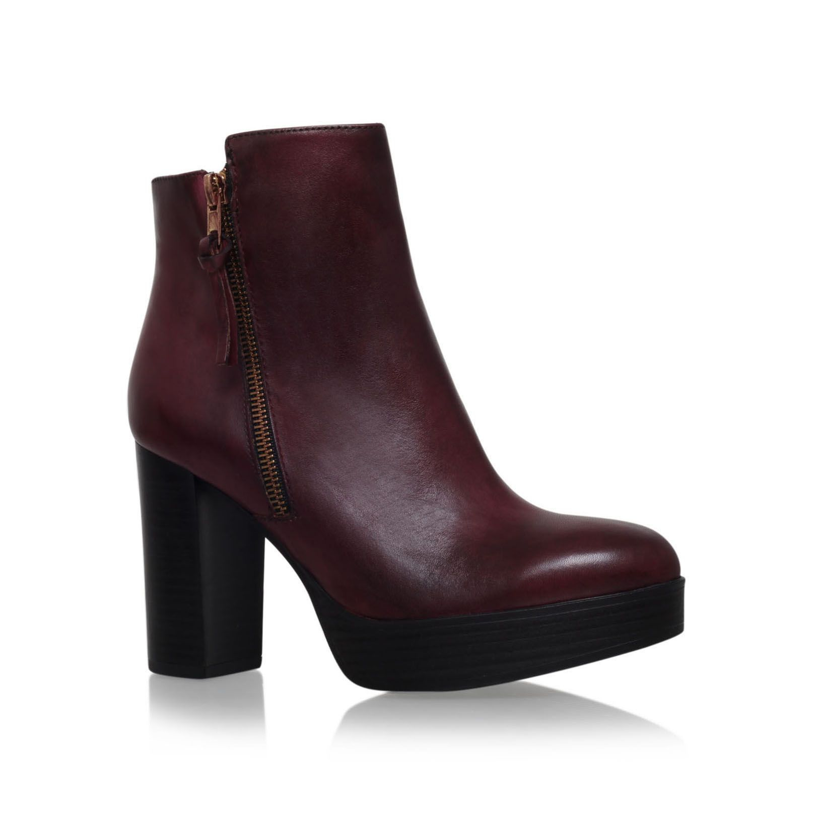 carvela kurt geiger supremo high block heel ankle boots in