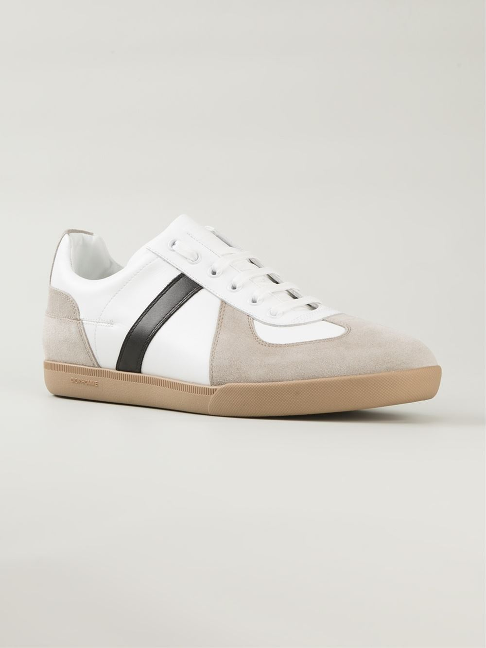 Lyst - Dior Homme Panelled Sneakers in Natural for Men 6774e32d7e1