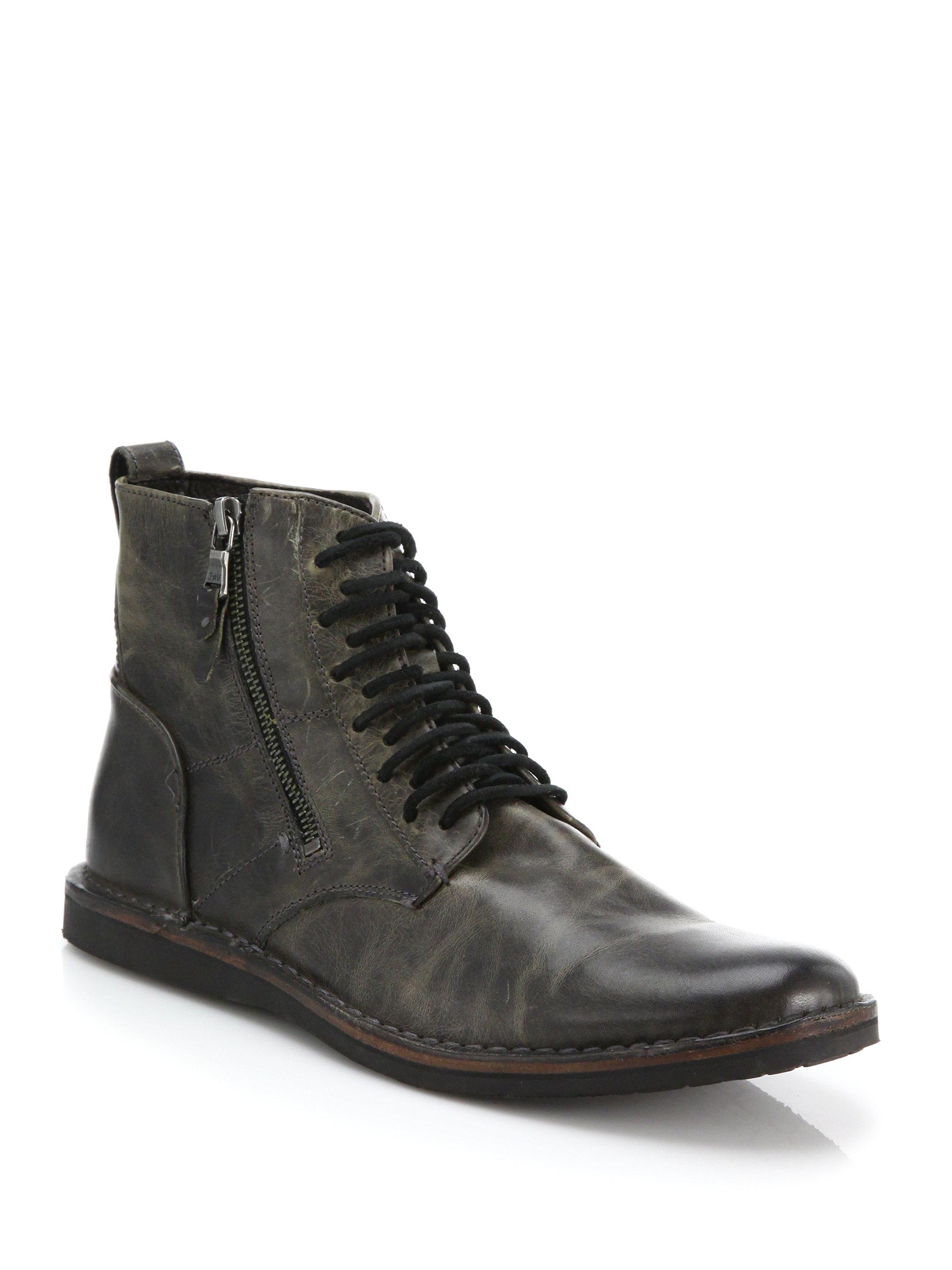 mens side zip snow boots national sheriffs association