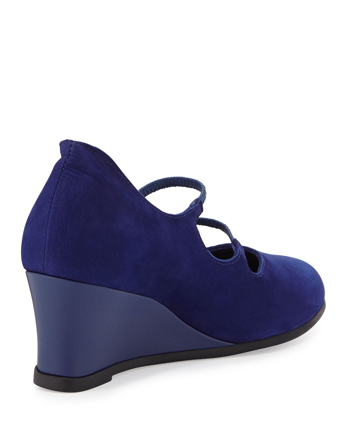 Arche Nosyam Nubuck Wedge Slip-on in Blue