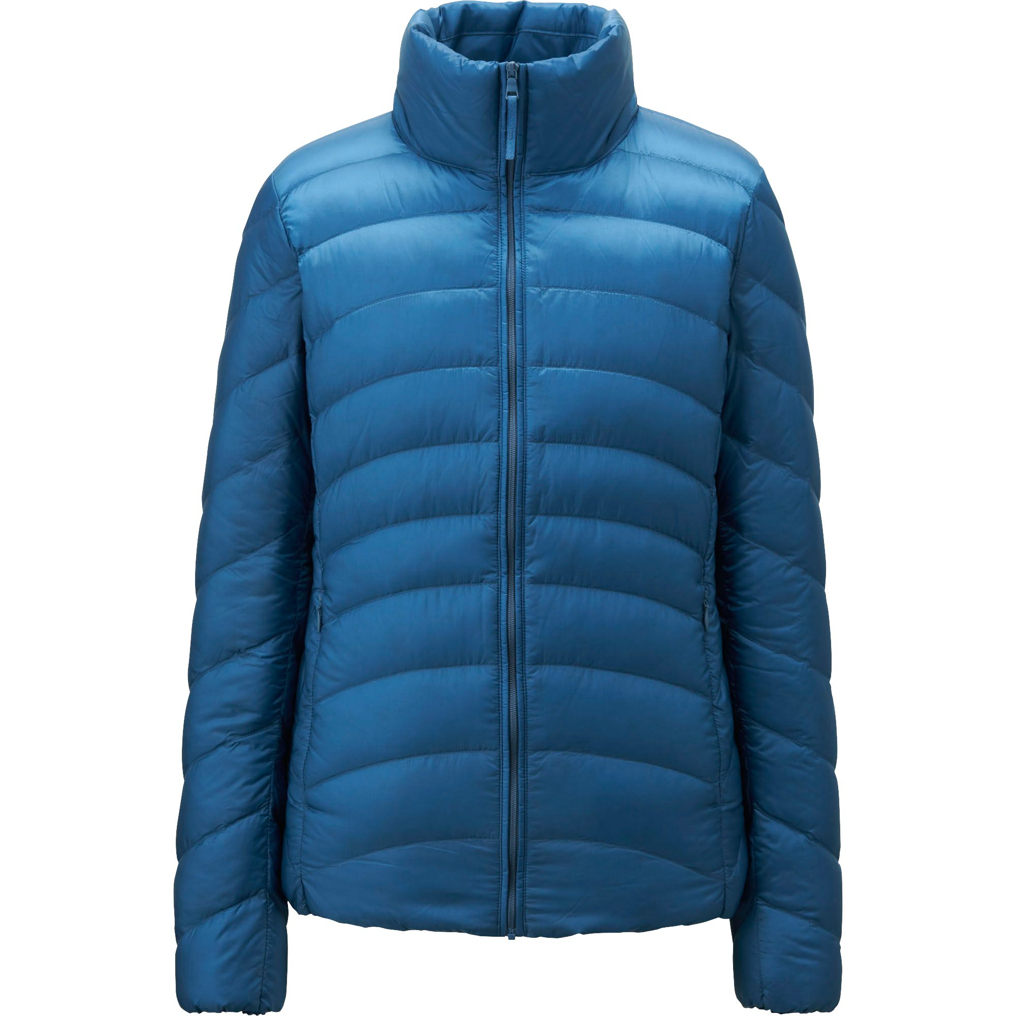 uniqlo ultra light down jacket in blue. Black Bedroom Furniture Sets. Home Design Ideas